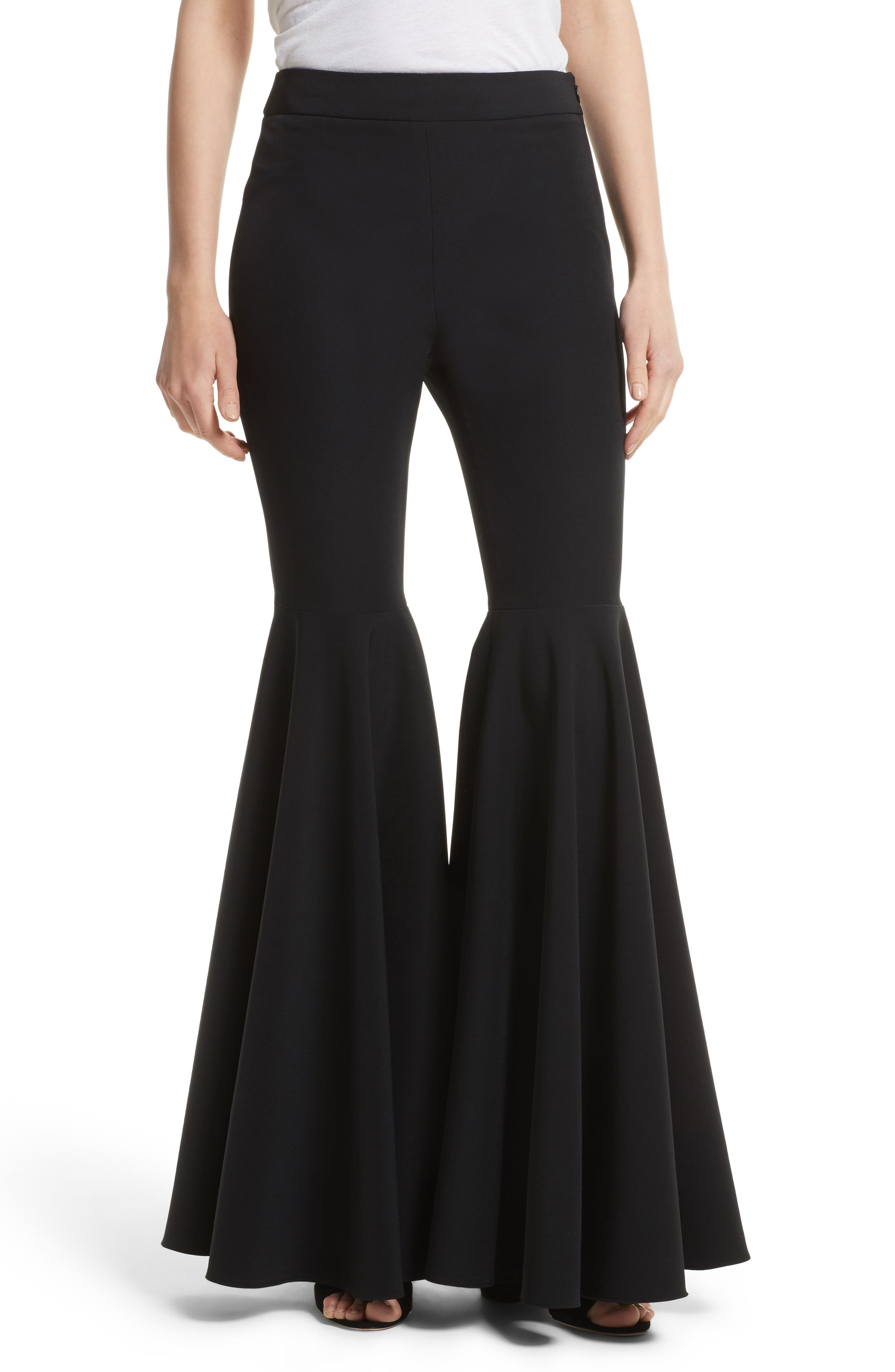 Milly Flare Leg Cady Pants