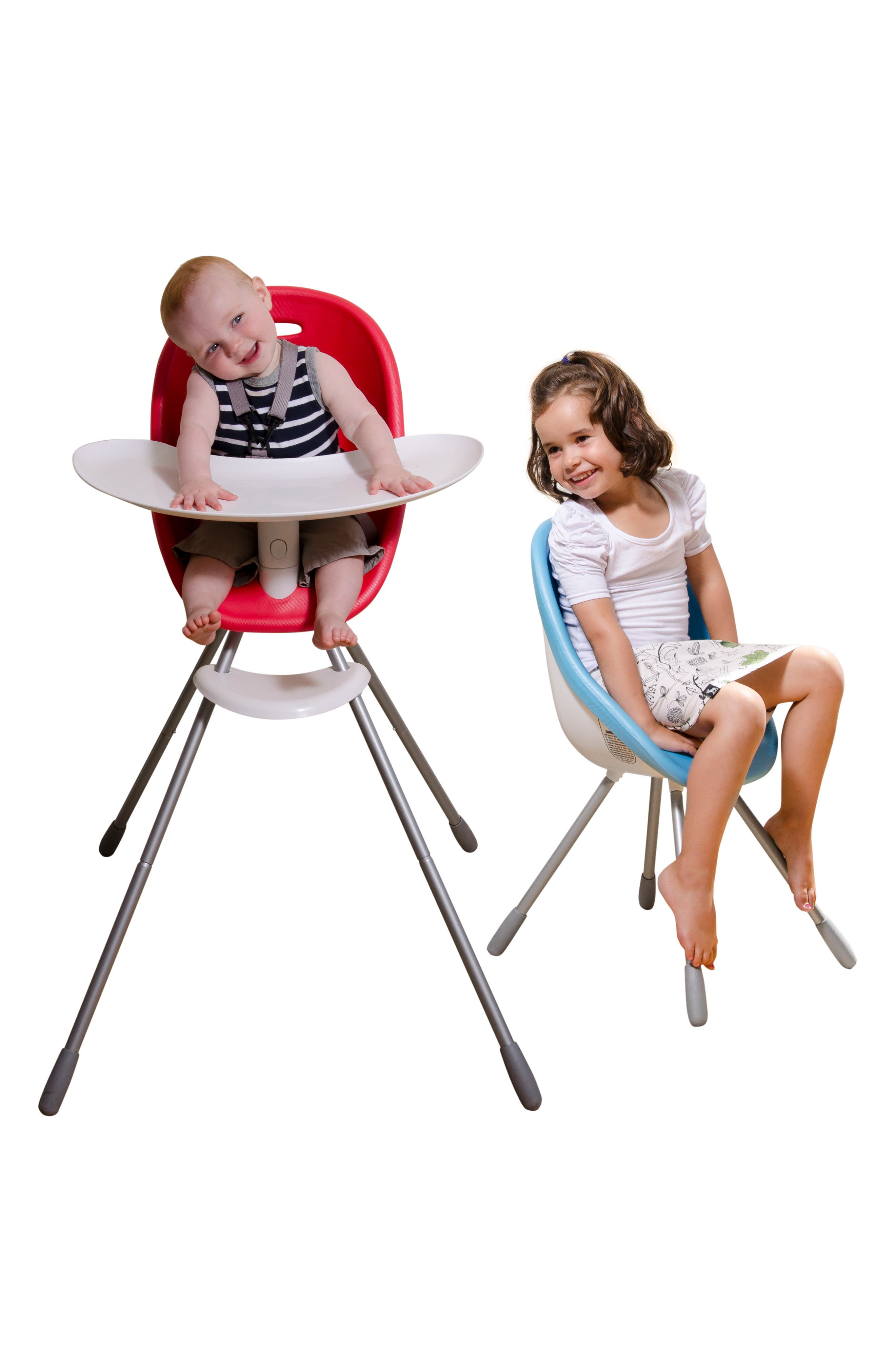 Poppy High Chair,                             Alternate thumbnail 7, color,                             Cranberry