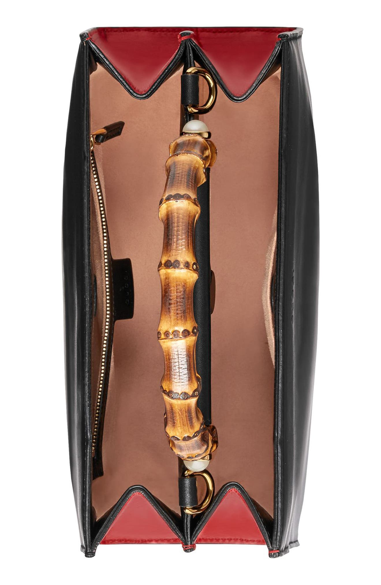 Alternate Image 3  - Gucci Medium Nymphea Bicolor Leather Top Handle Satchel