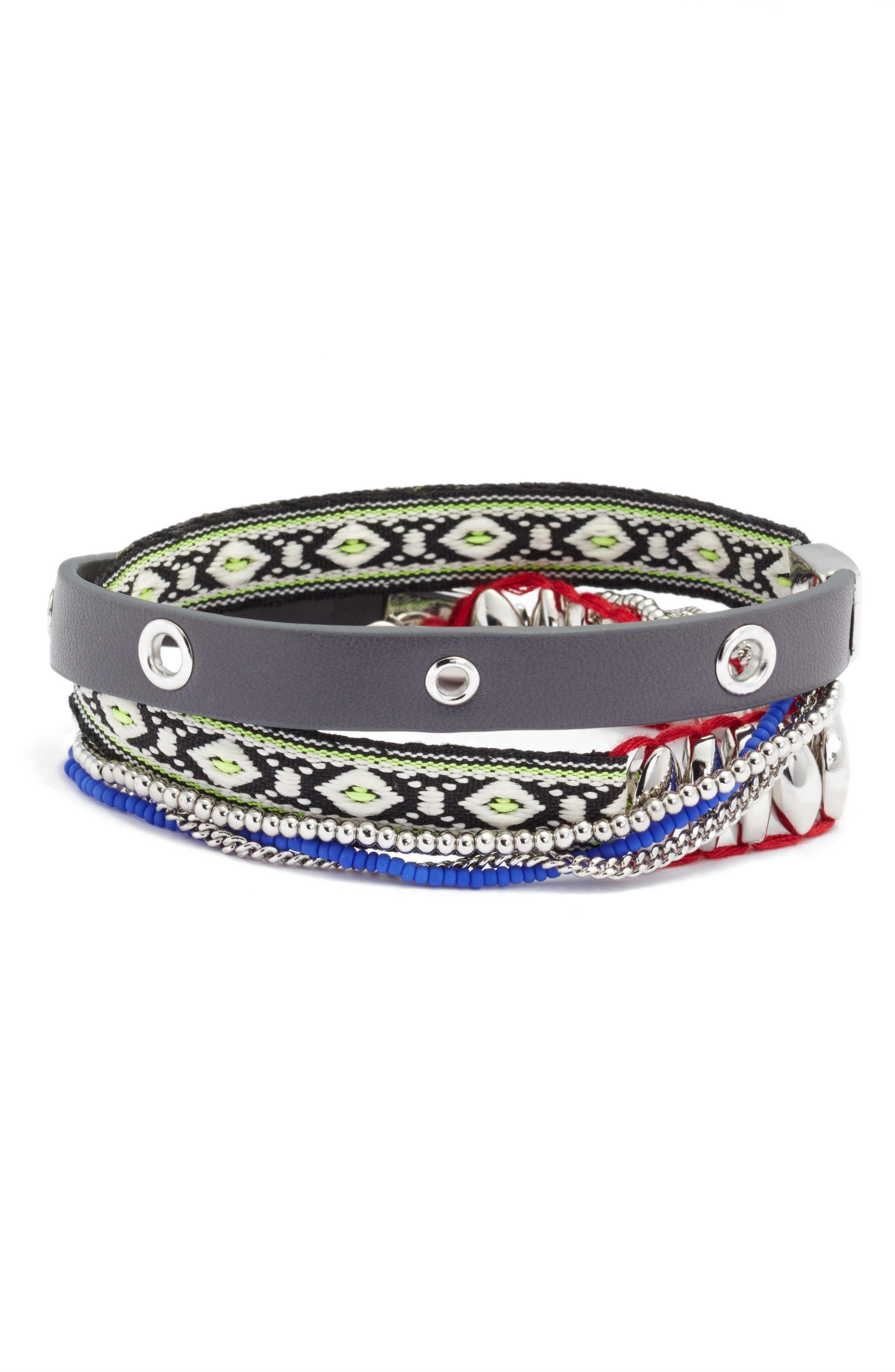REBECCA MINKOFF Wrap Bracelet