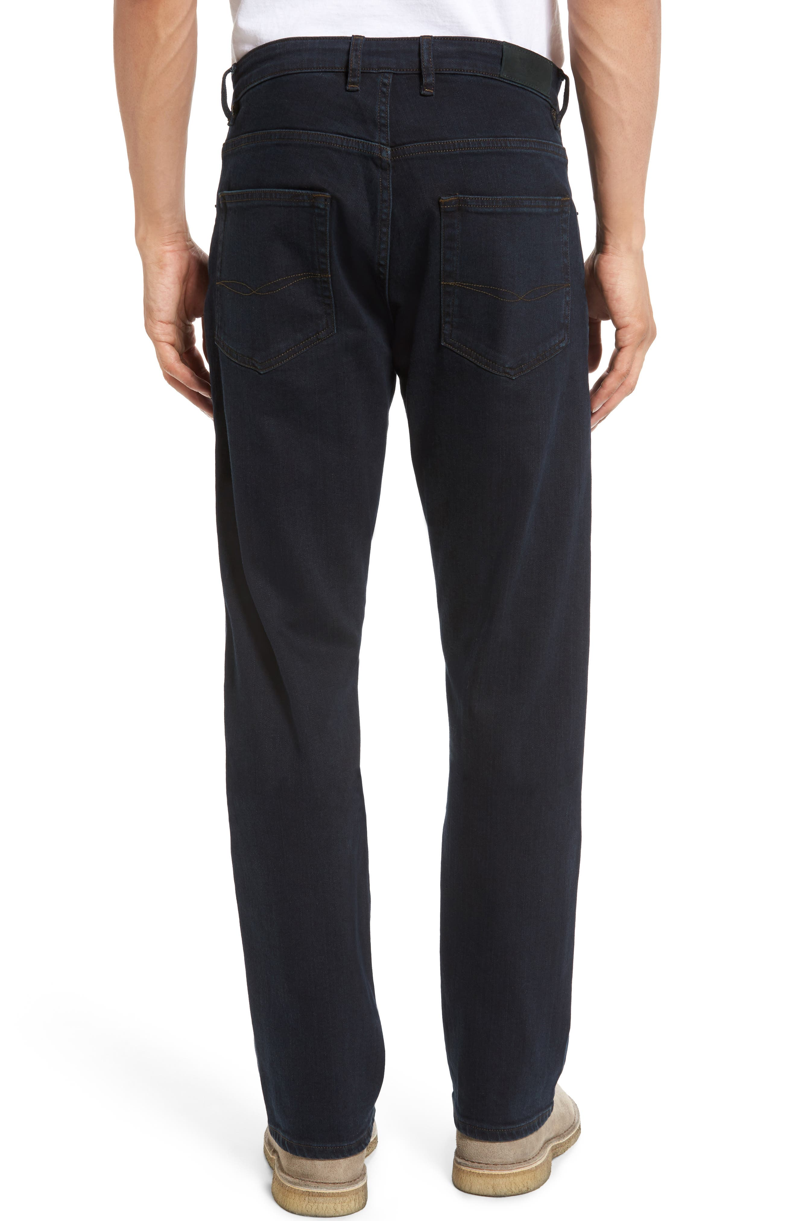 Cobham Relaxed Fit Jeans,                             Alternate thumbnail 2, color,                             Blue Black