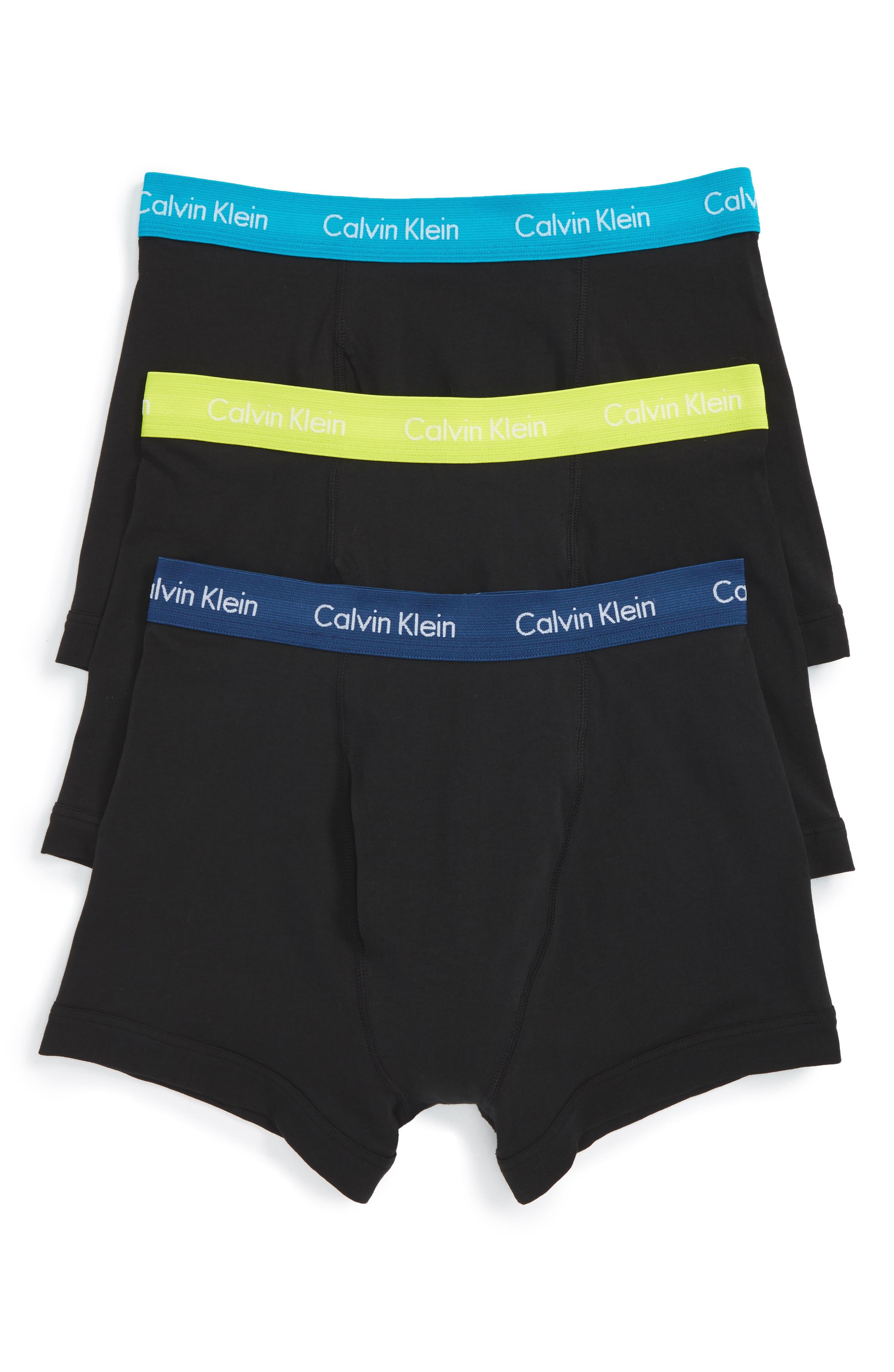 Alternate Image 1 Selected - Calvin Klein 3-Pack Trunks