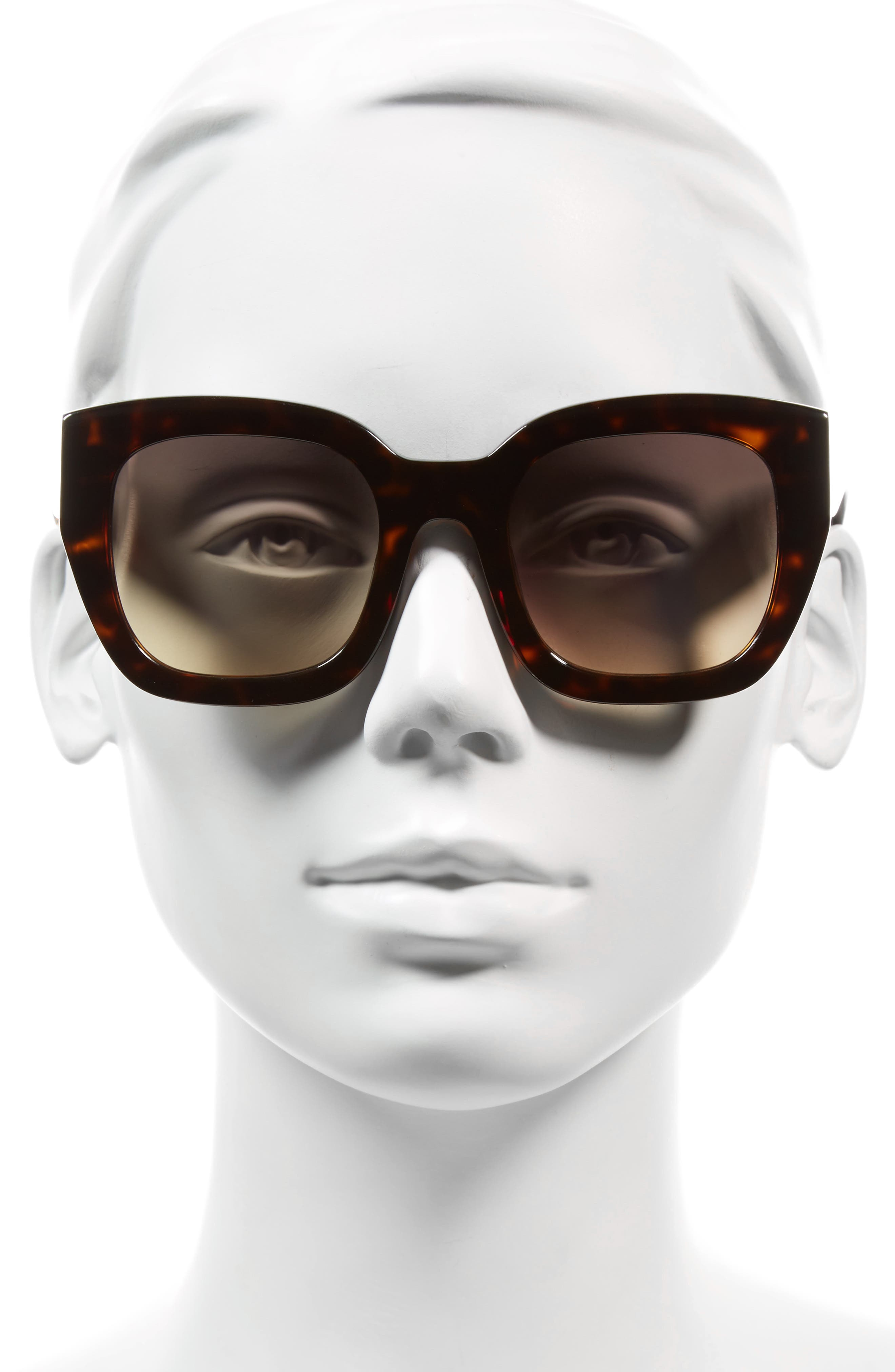 Alternate Image 2  - Alice + Olivia Aberdeen 50mm Square Sunglasses
