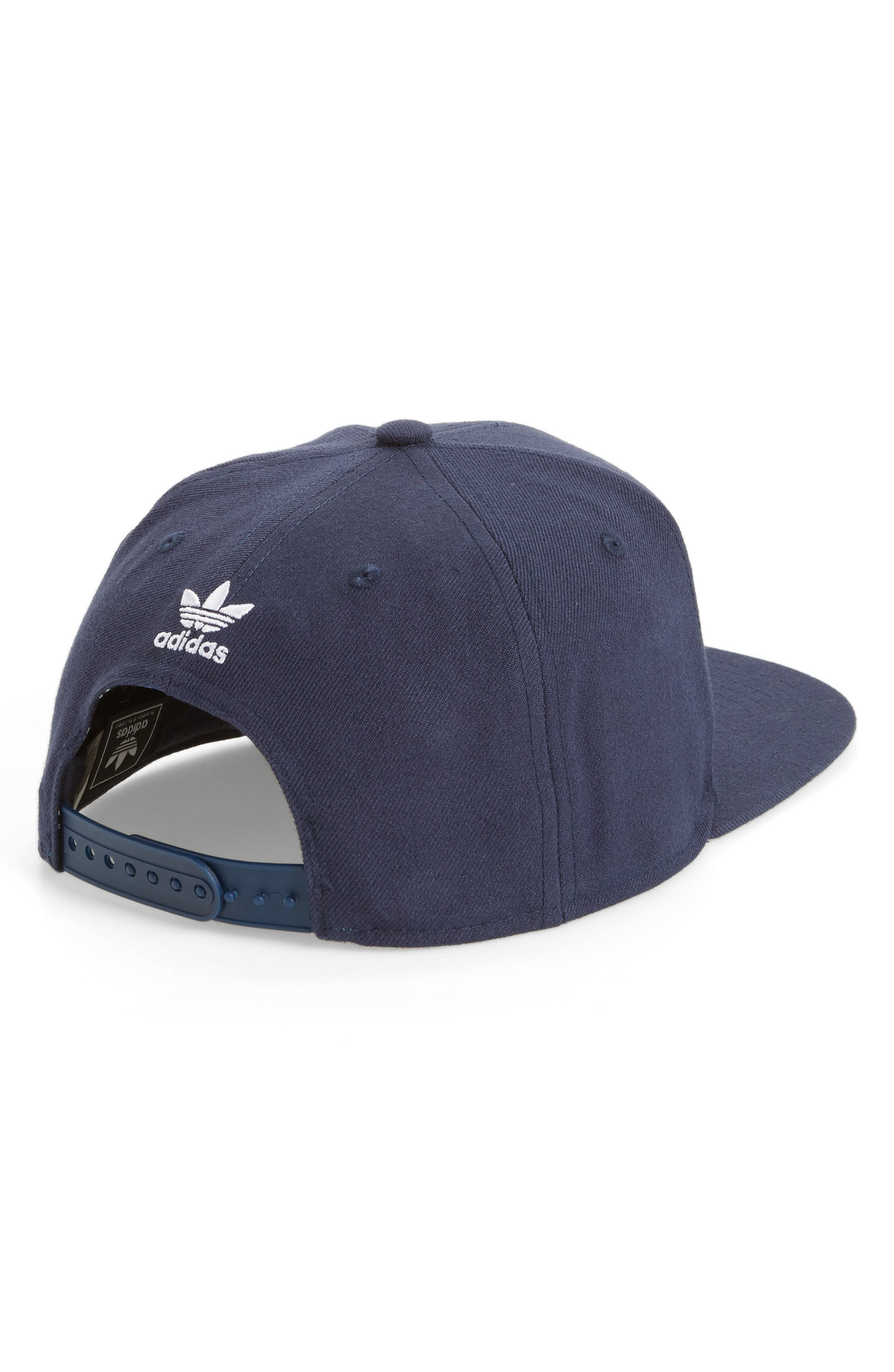Alternate Image 2  - adidas Trefoil Chain Snapback Baseball Cap