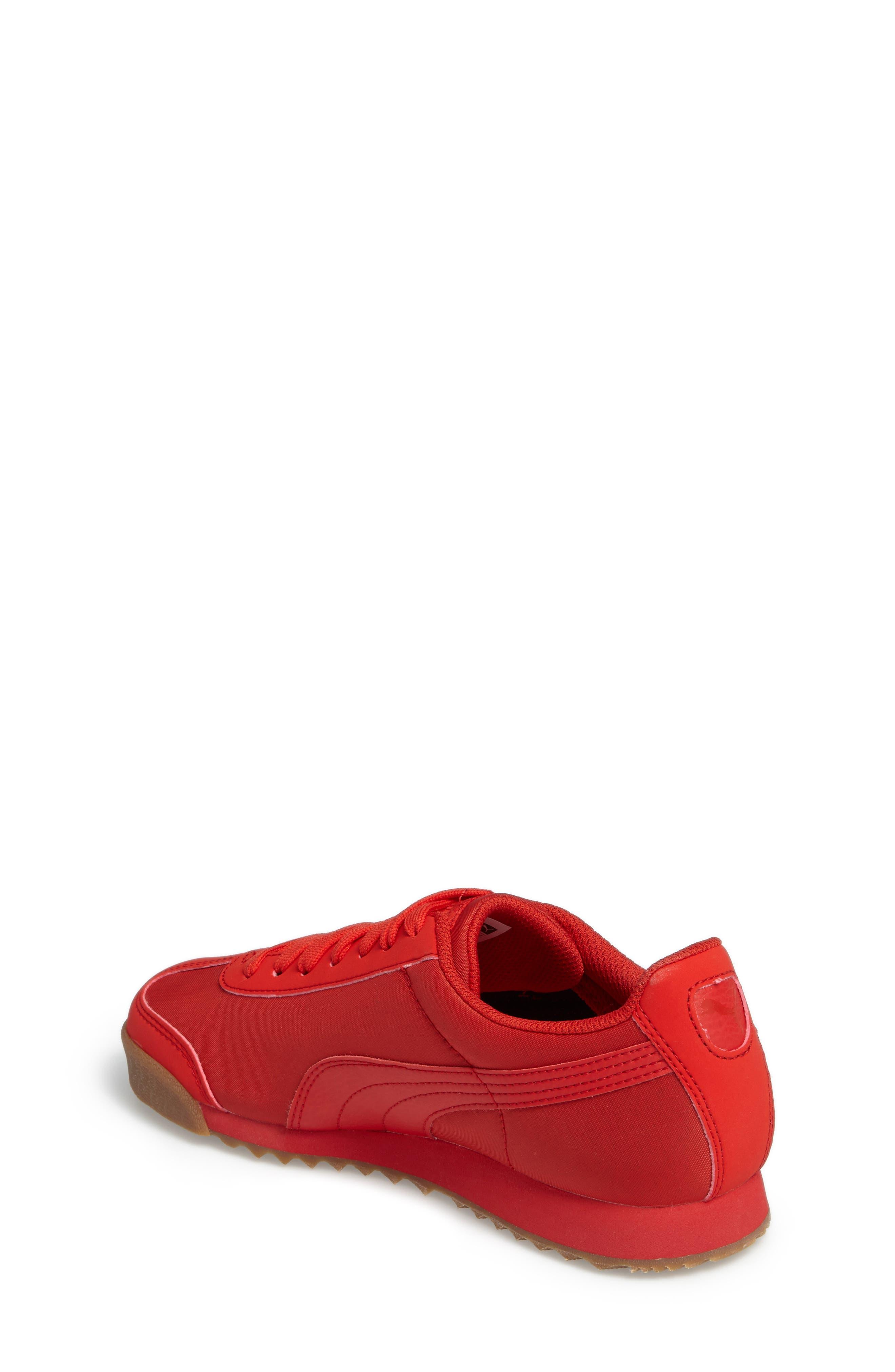 Alternate Image 2  - PUMA Roma Basic Summer Sneaker (Big Kid)