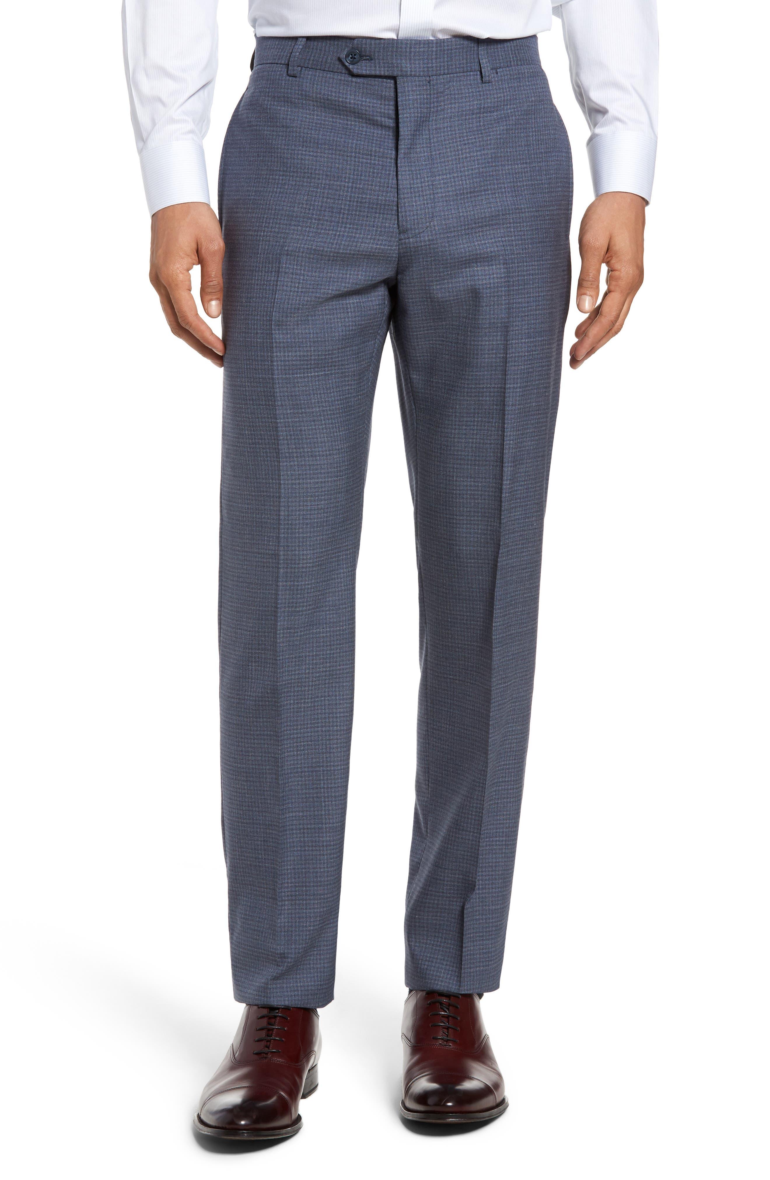 Alternate Image 4  - Michael Bastian Classic Fit Check Wool Suit