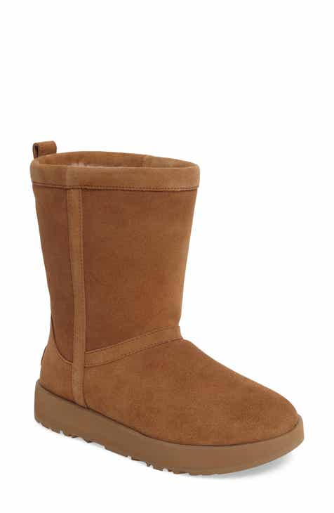 a94d6f834f678 UGG® Classic Short Waterproof Boot (Women)