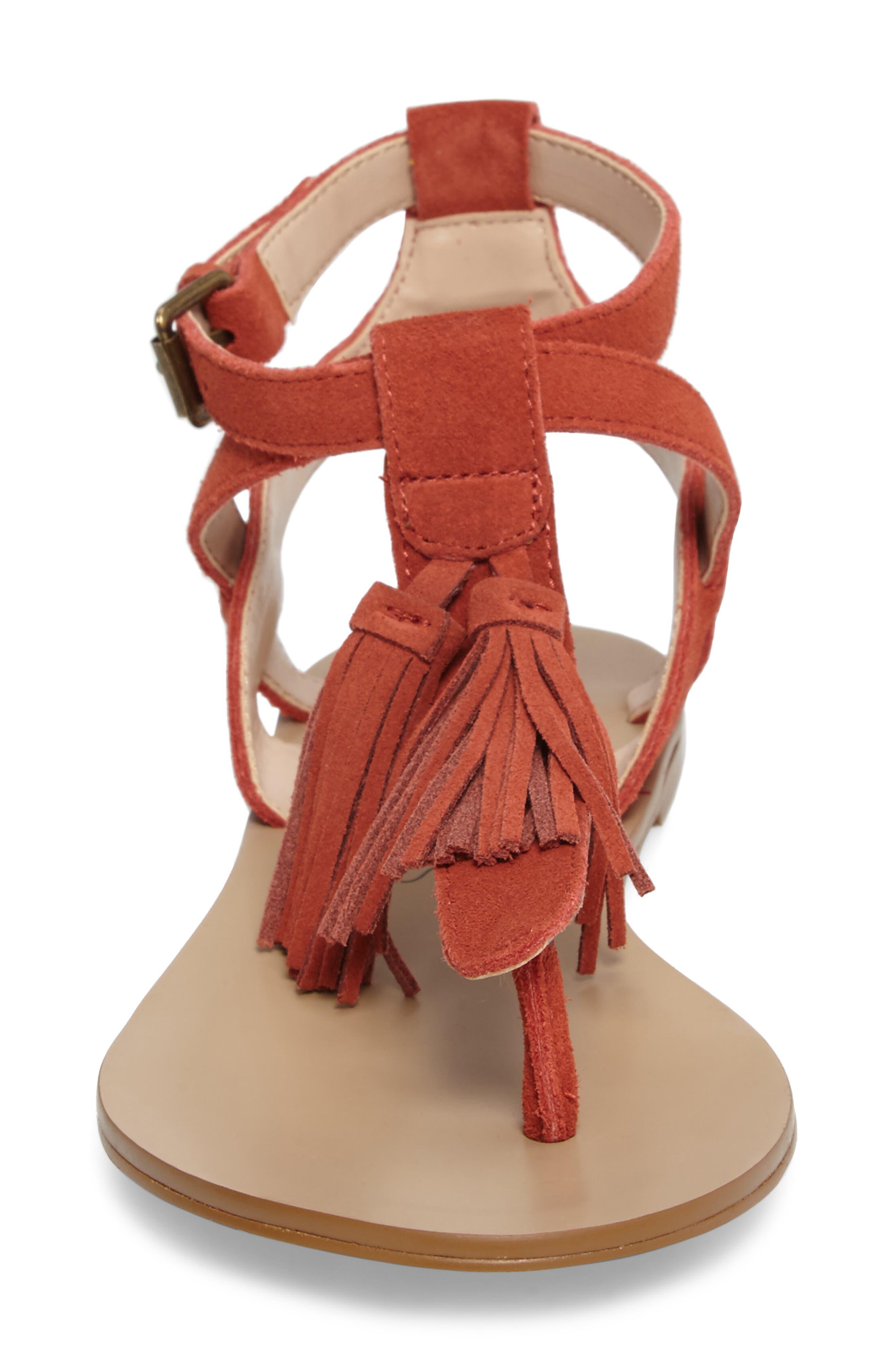 Alternate Image 4  - Sole Society 'Pandora' Fringe Sandal (Women)