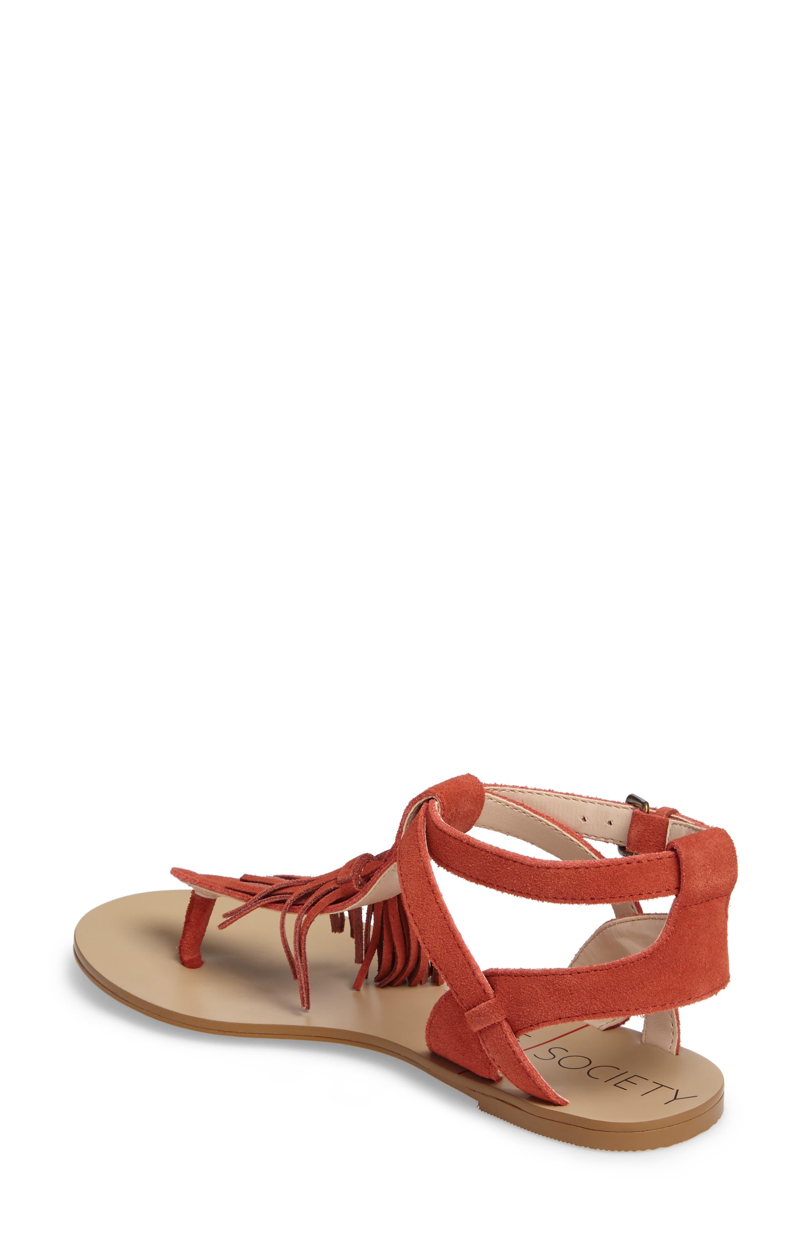 Alternate Image 2  - Sole Society 'Pandora' Fringe Sandal (Women)