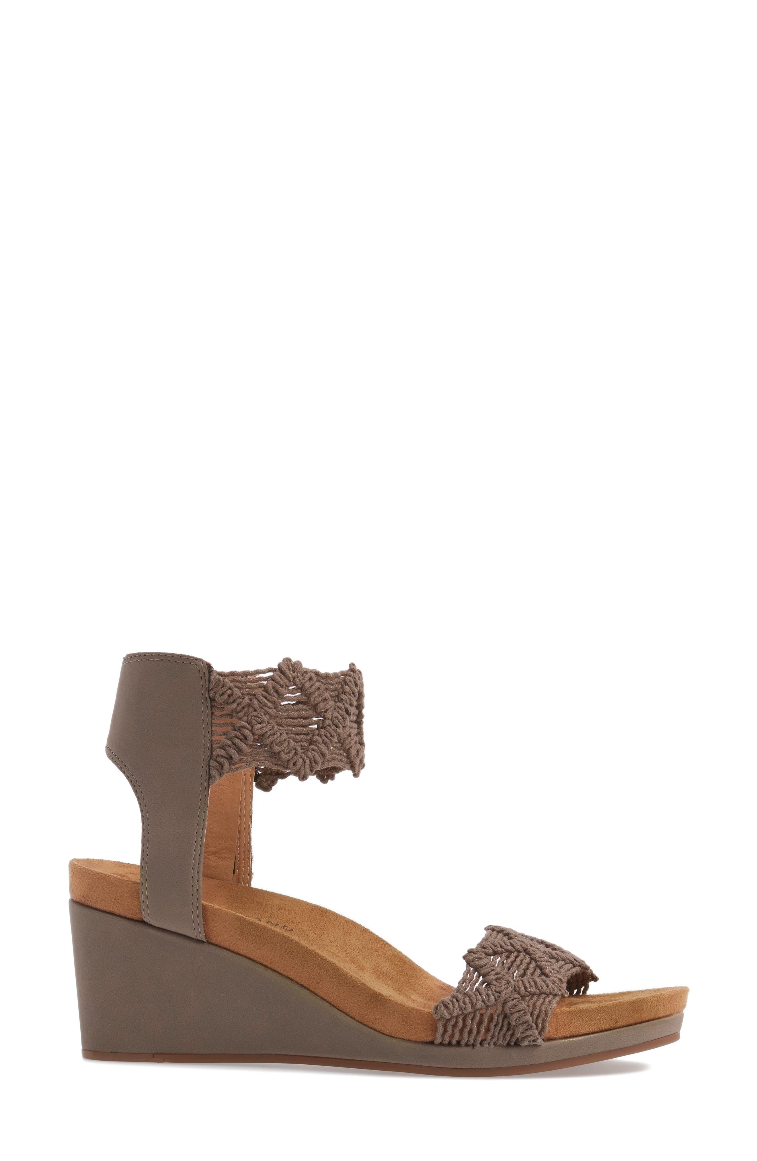 Alternate Image 3  - Lucky Brand Kierlo Wedge Sandal (Women)