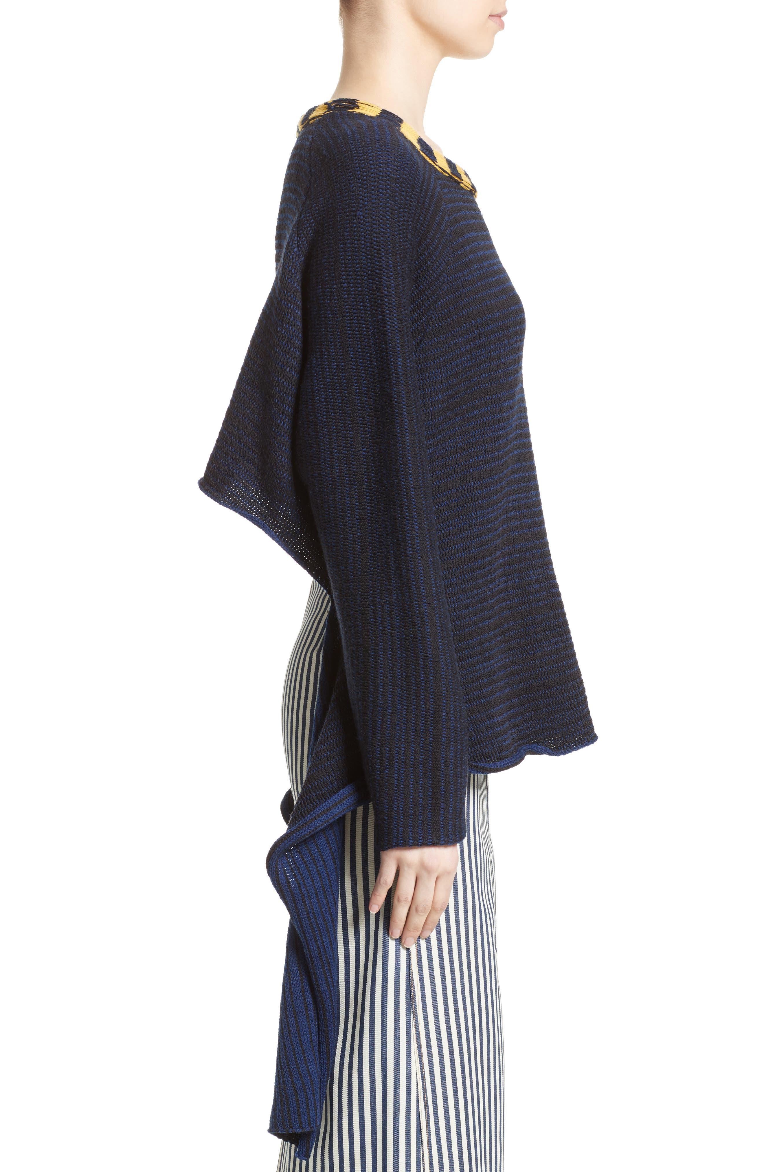 Alternate Image 5  - Eckhaus Latta Tie Back Sweater