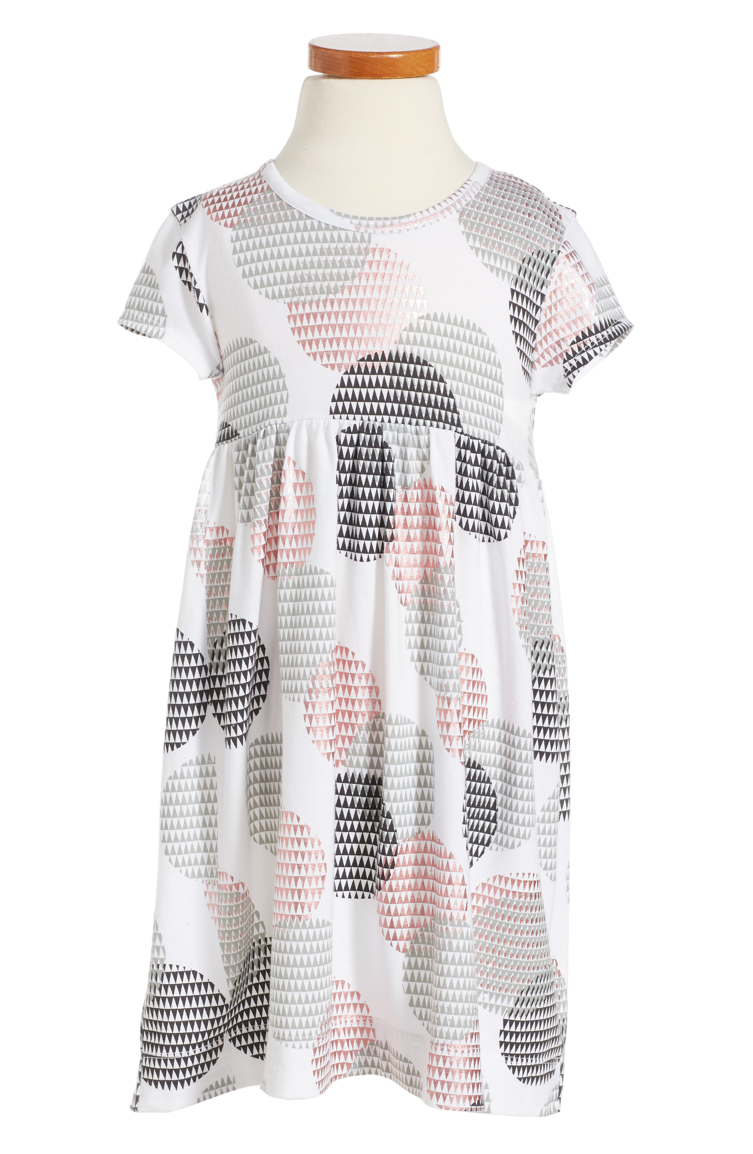 TUCKER + TATE Circle Print Dress
