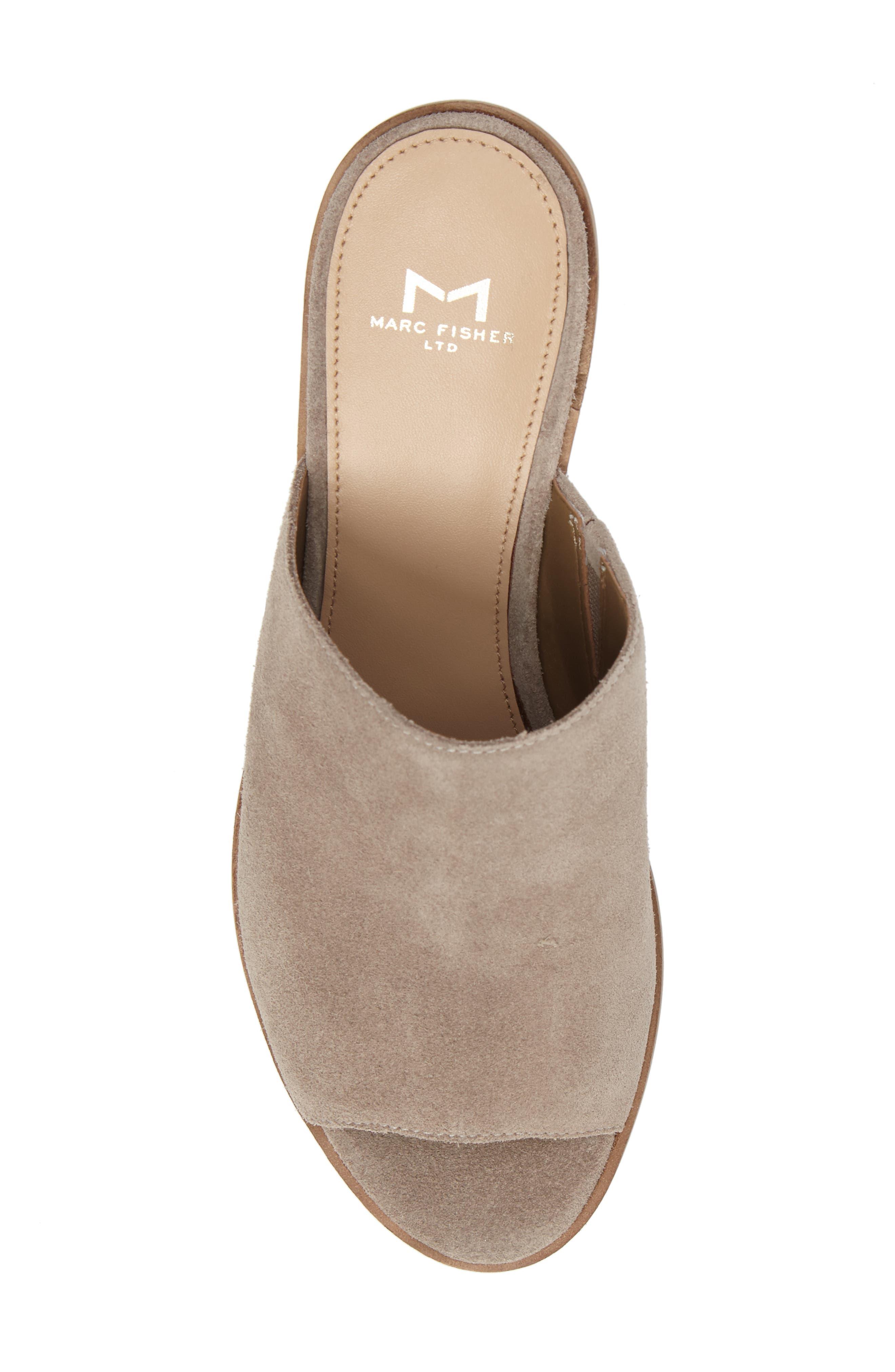 Alternate Image 5  - Marc Fisher LTD Milan Block Heel Mule (Women)