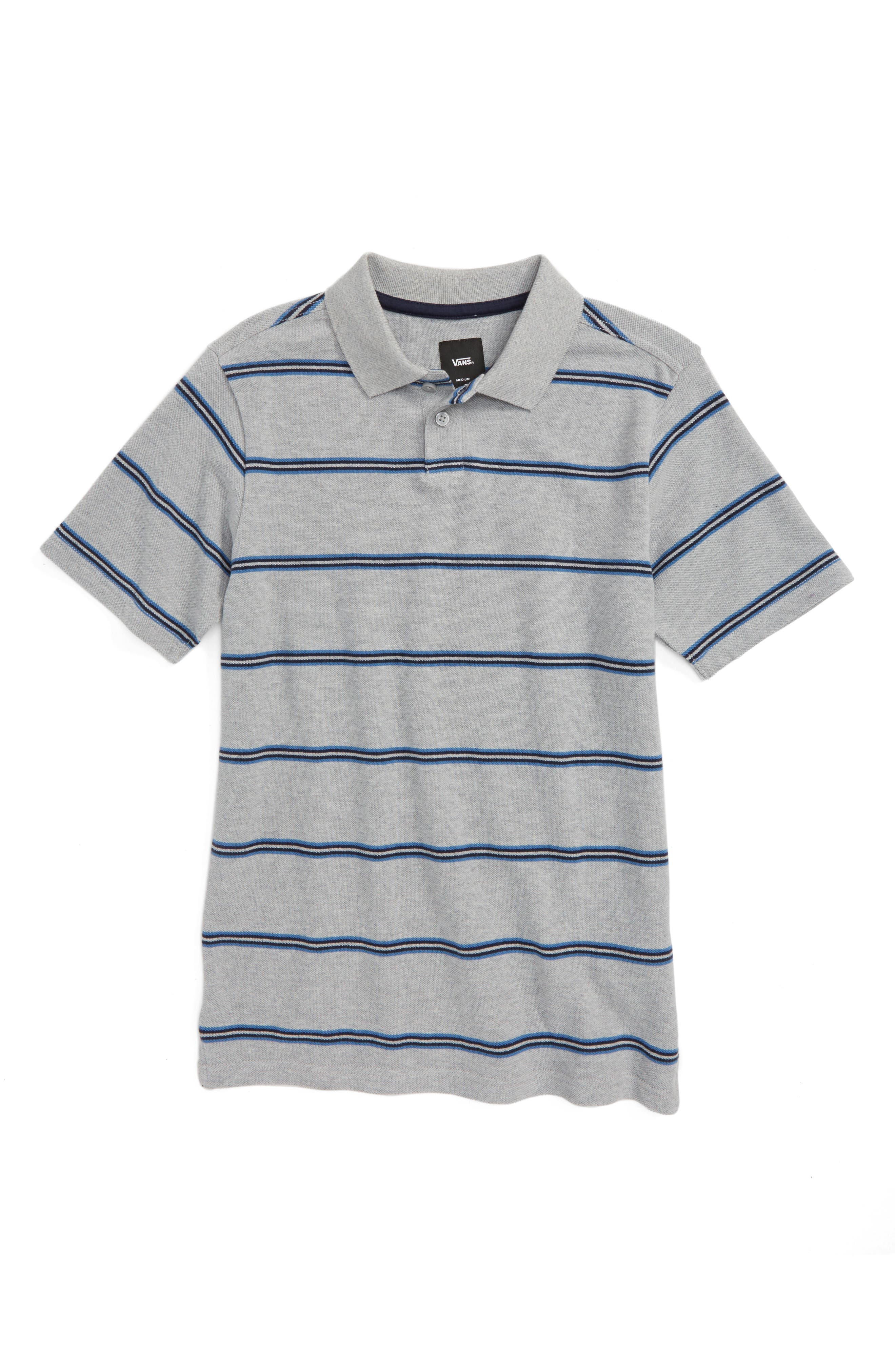 Gifford Polo,                         Main,                         color, Cement Heather