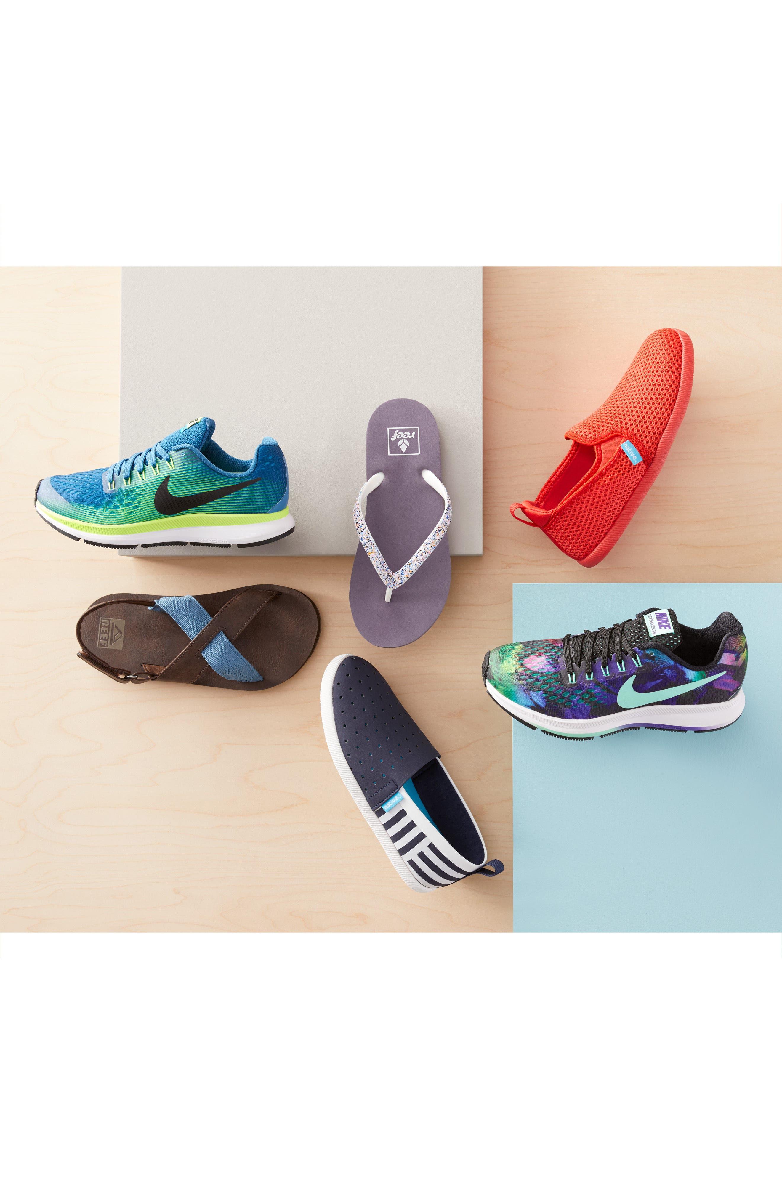 Alternate Image 7  - Nike Zoom Pegasus 34 Print Sneaker (Little Kid & Big Kid)