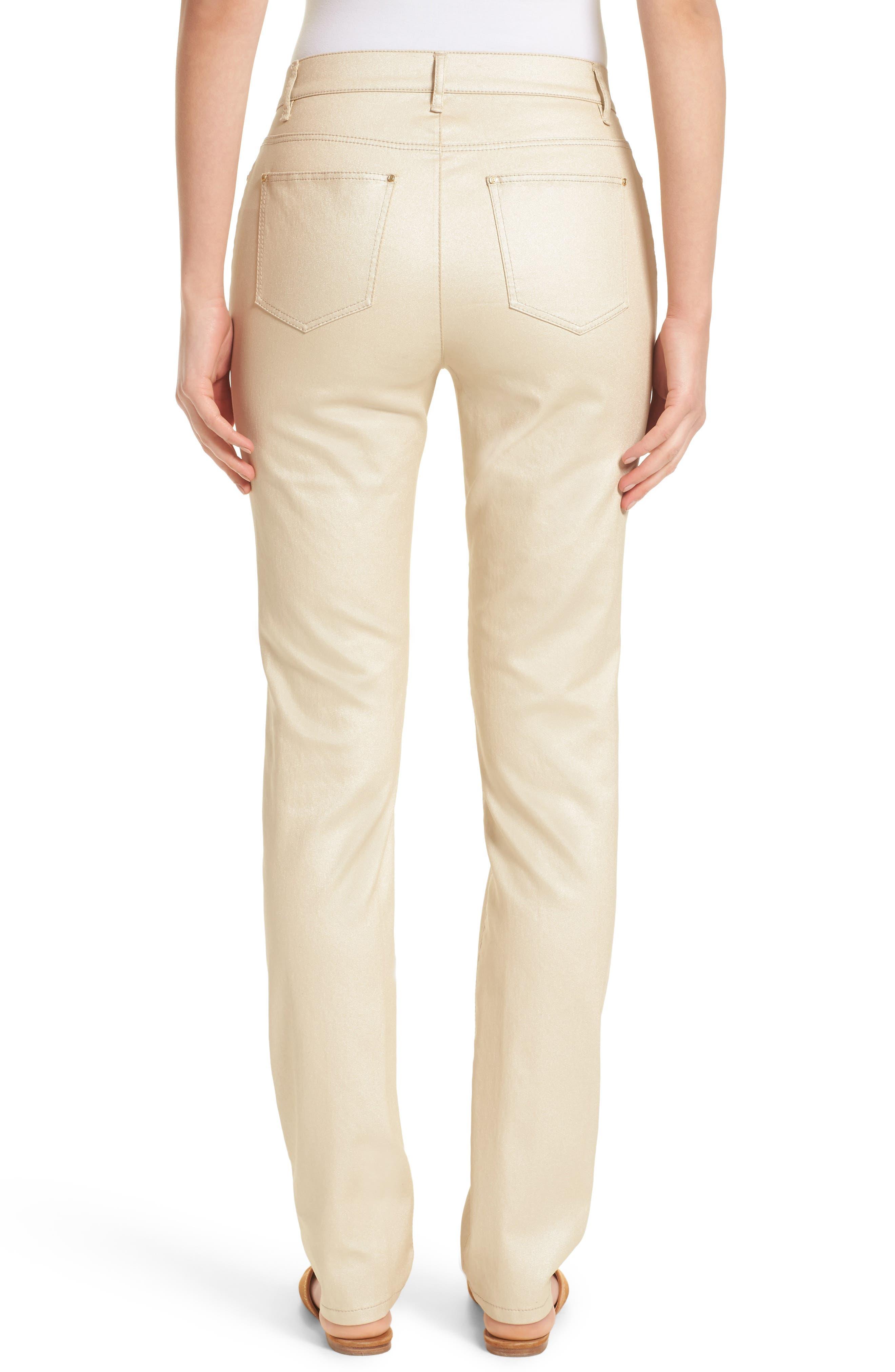 Alternate Image 2  - Lafayette 148 New York Curvy Fit Skinny Jeans (Mason)