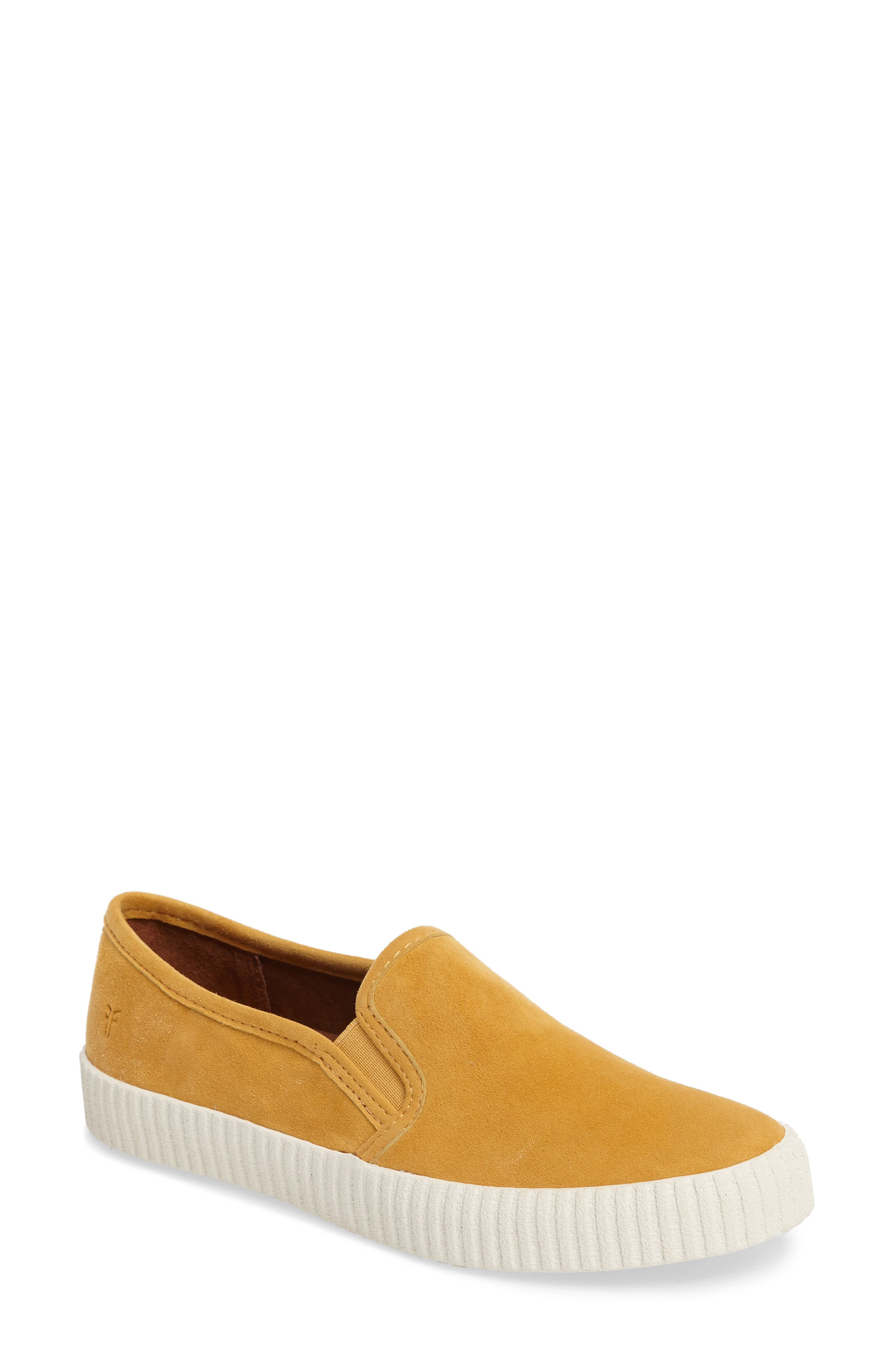 Camille Slip-On Sneaker,                             Main thumbnail 1, color,                             Yellow