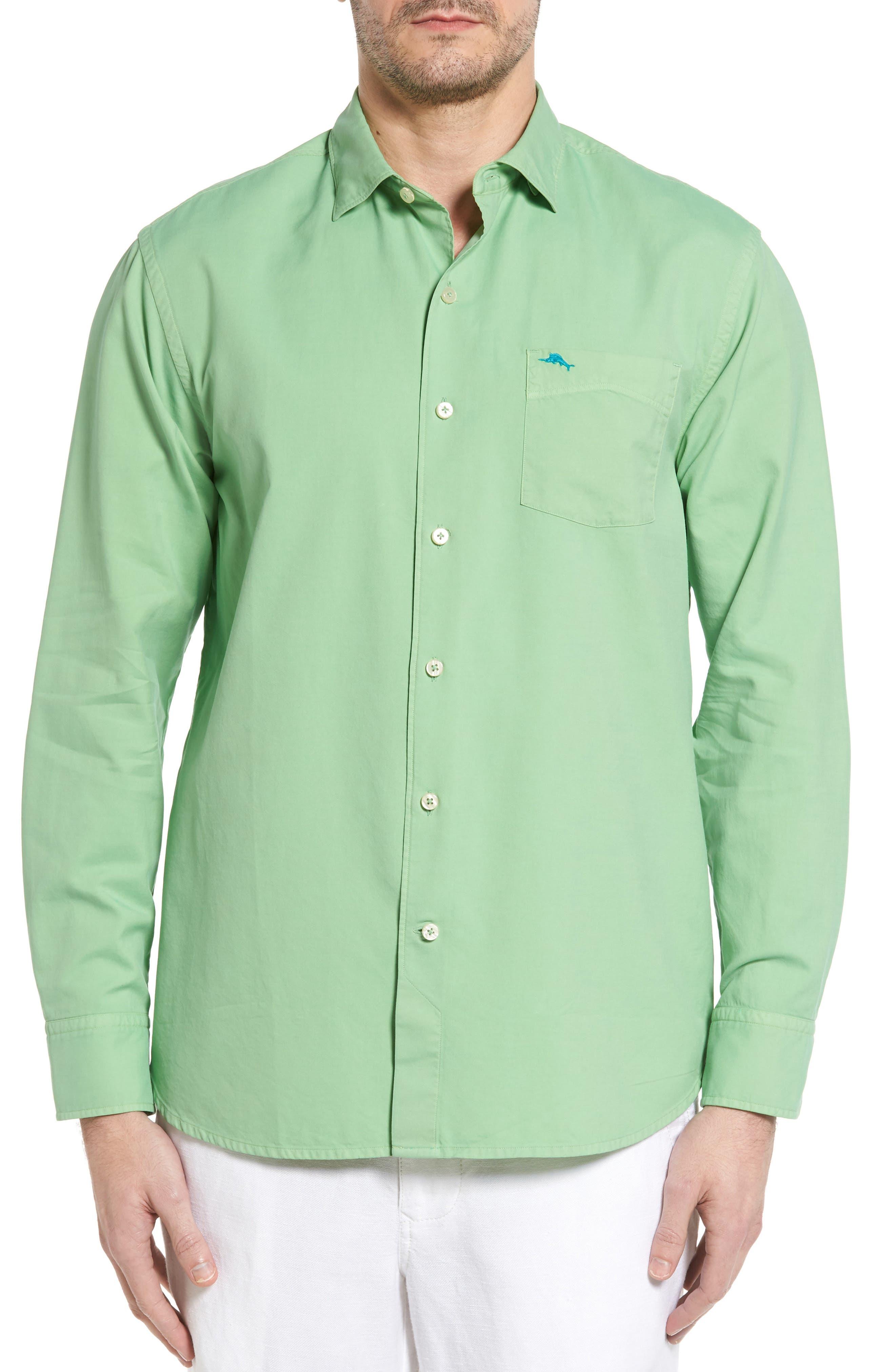 TOMMY BAHAMA Island Twill Sport Shirt