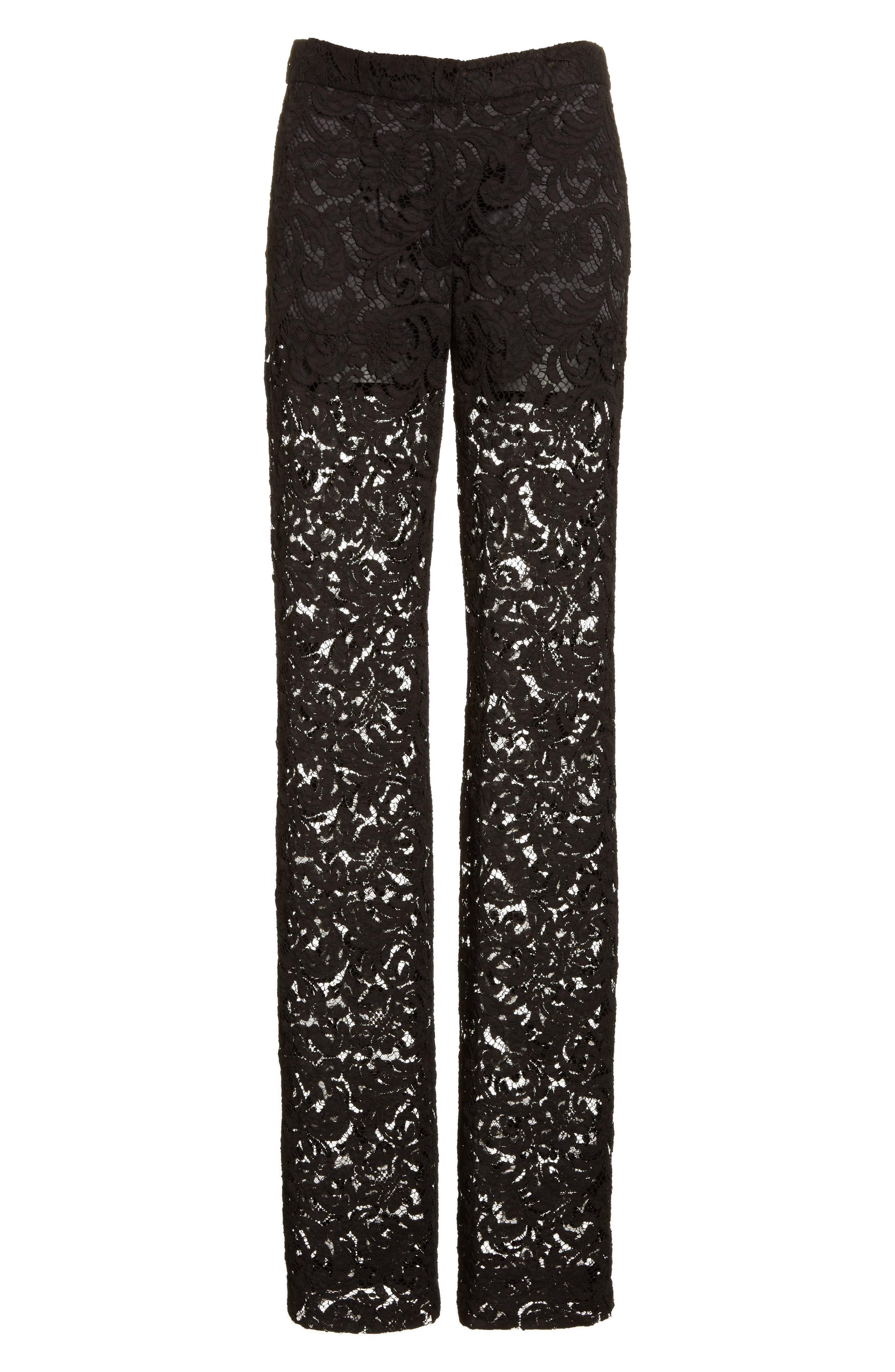 Alternate Image 4  - Adam Lippes Lace Tuxedo Pants