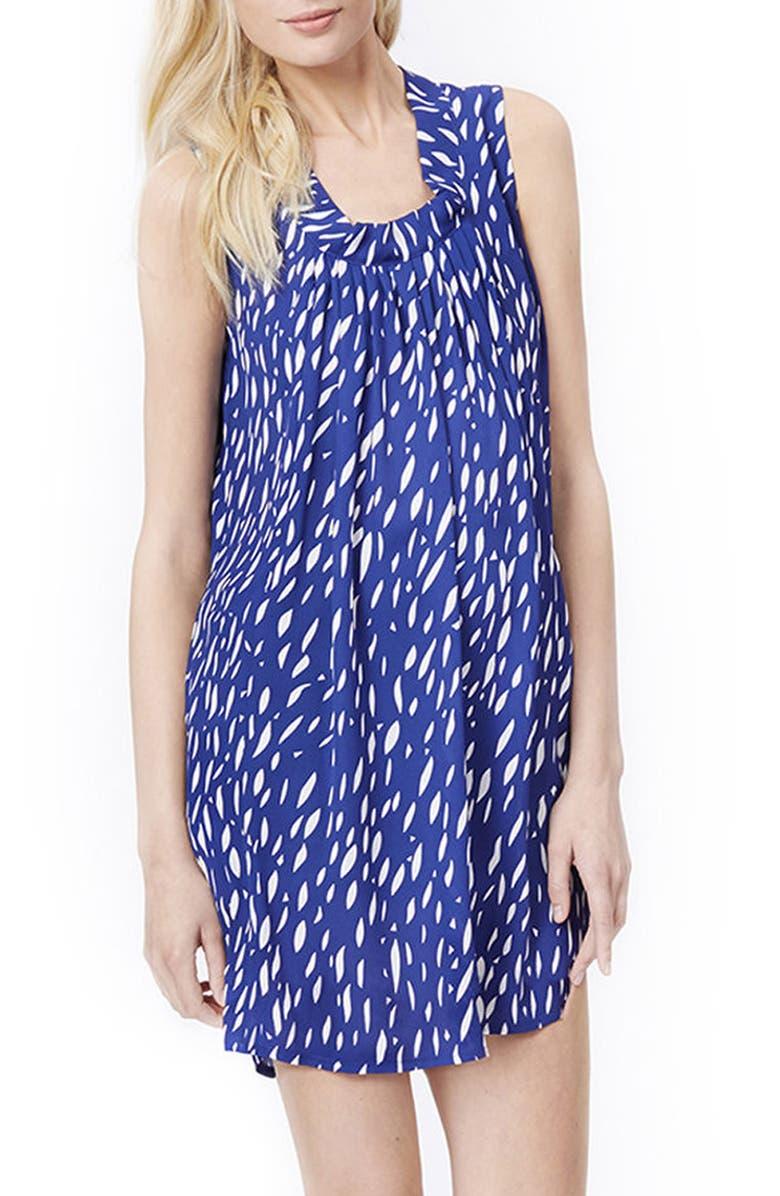 Anya Print Maternity/Nursing Shift Dress