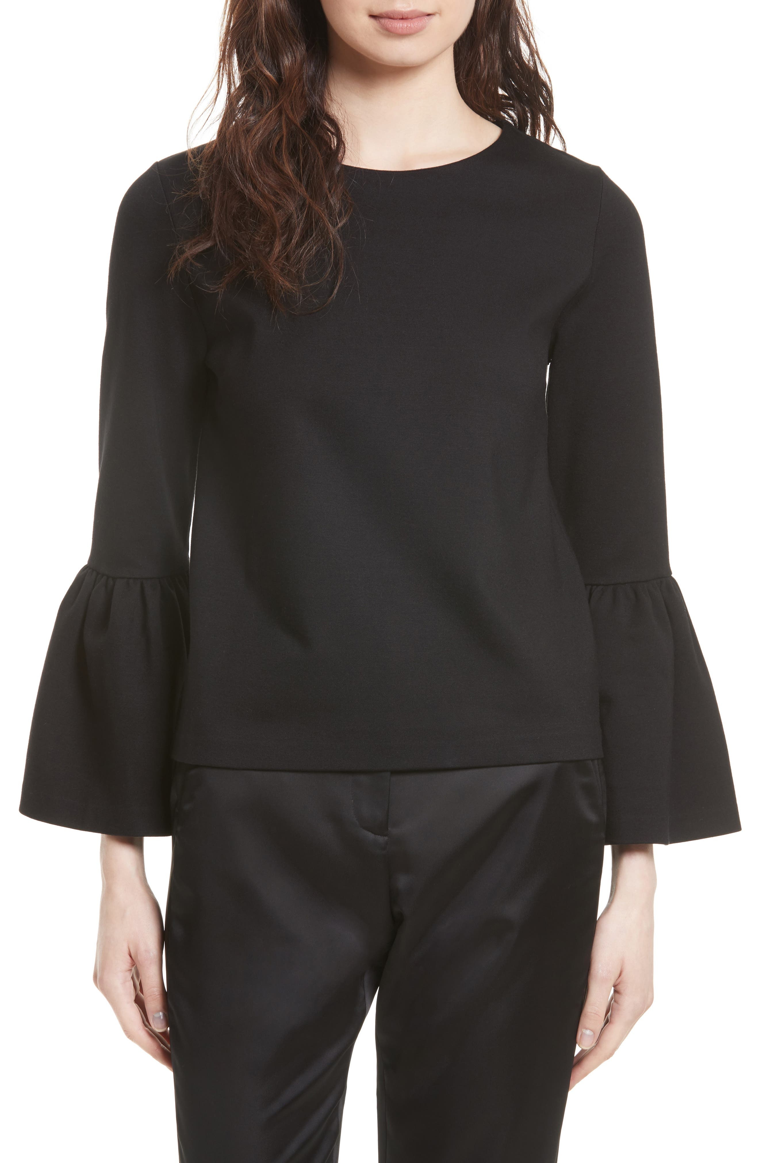 TED BAKER LONDON Lolare Bell Sleeve Top