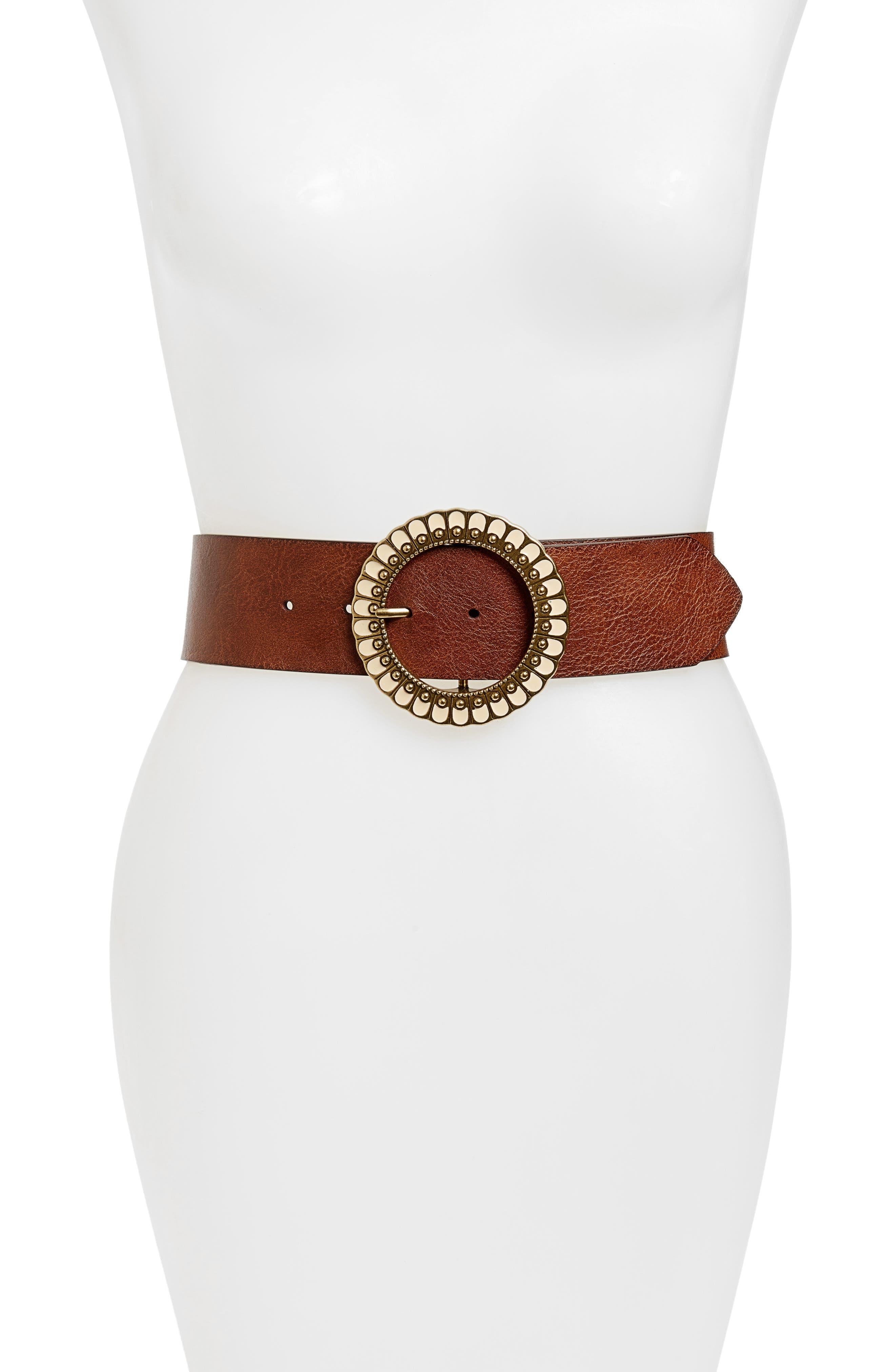 Hinge Ornamental Buckle Belt