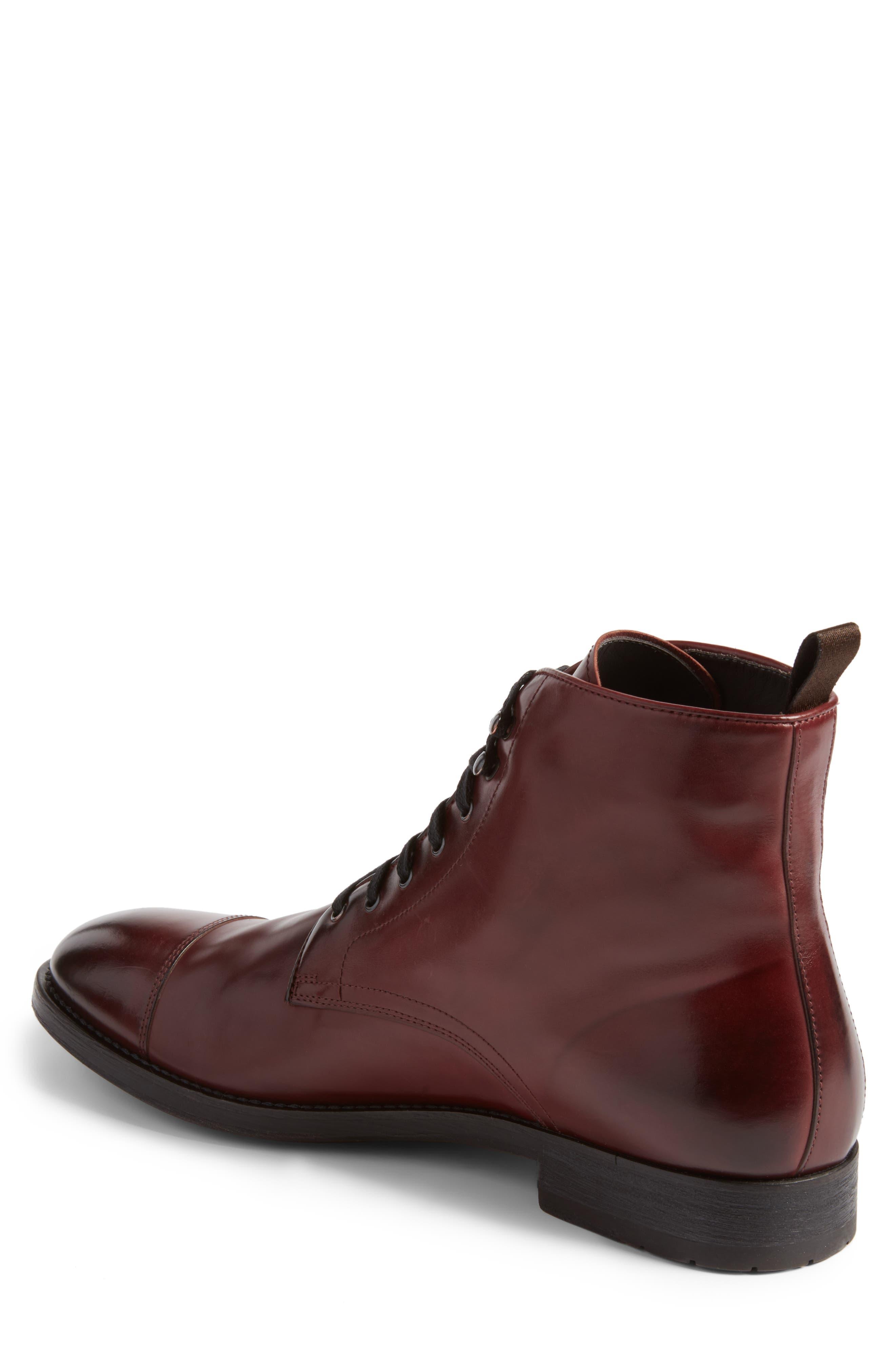Alternate Image 2  - To Boot New York Bondfield Cap Toe Boot (Men)