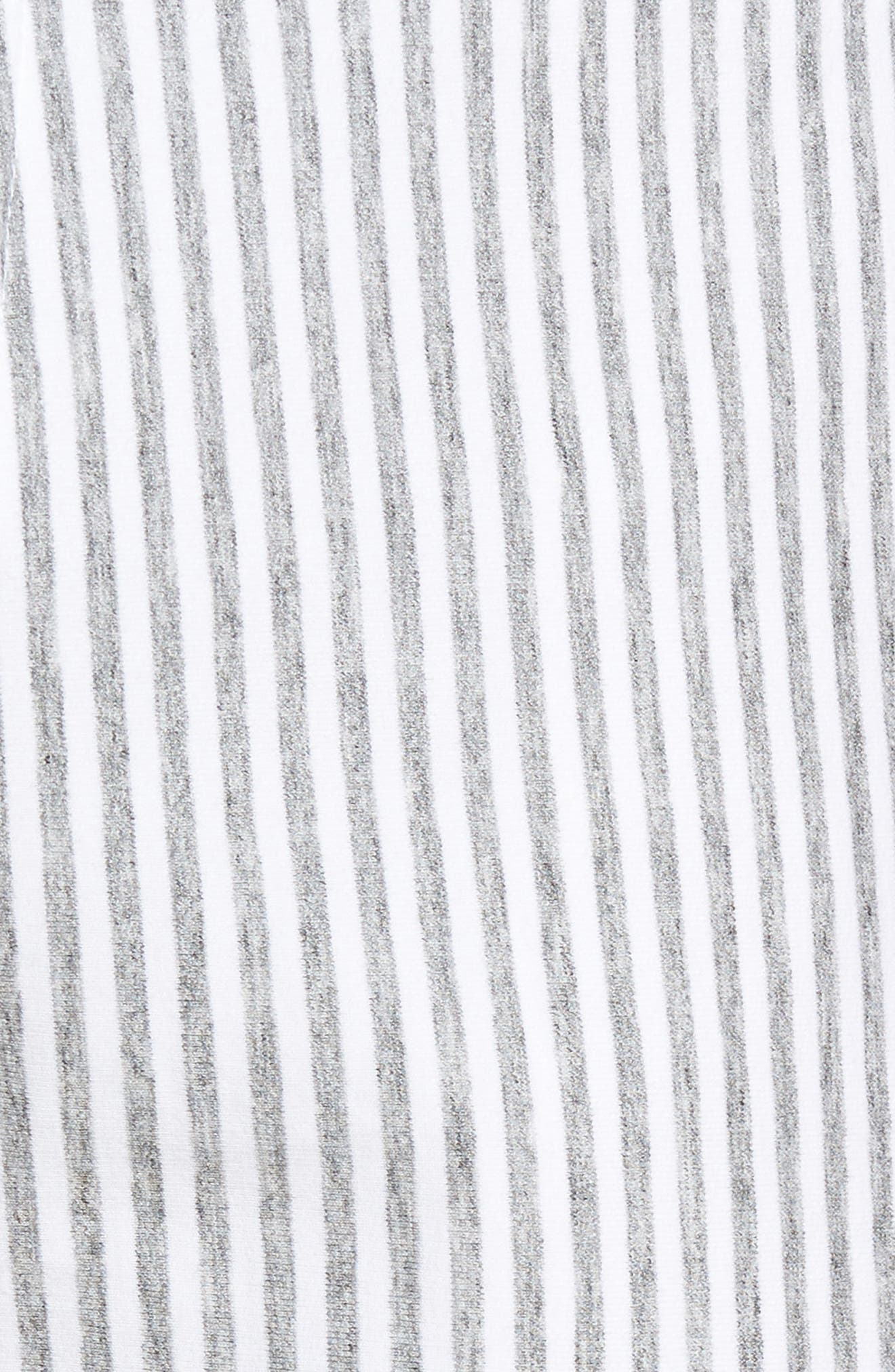 Alternate Image 6  - Slate & Stone Stripe French Terry Shorts