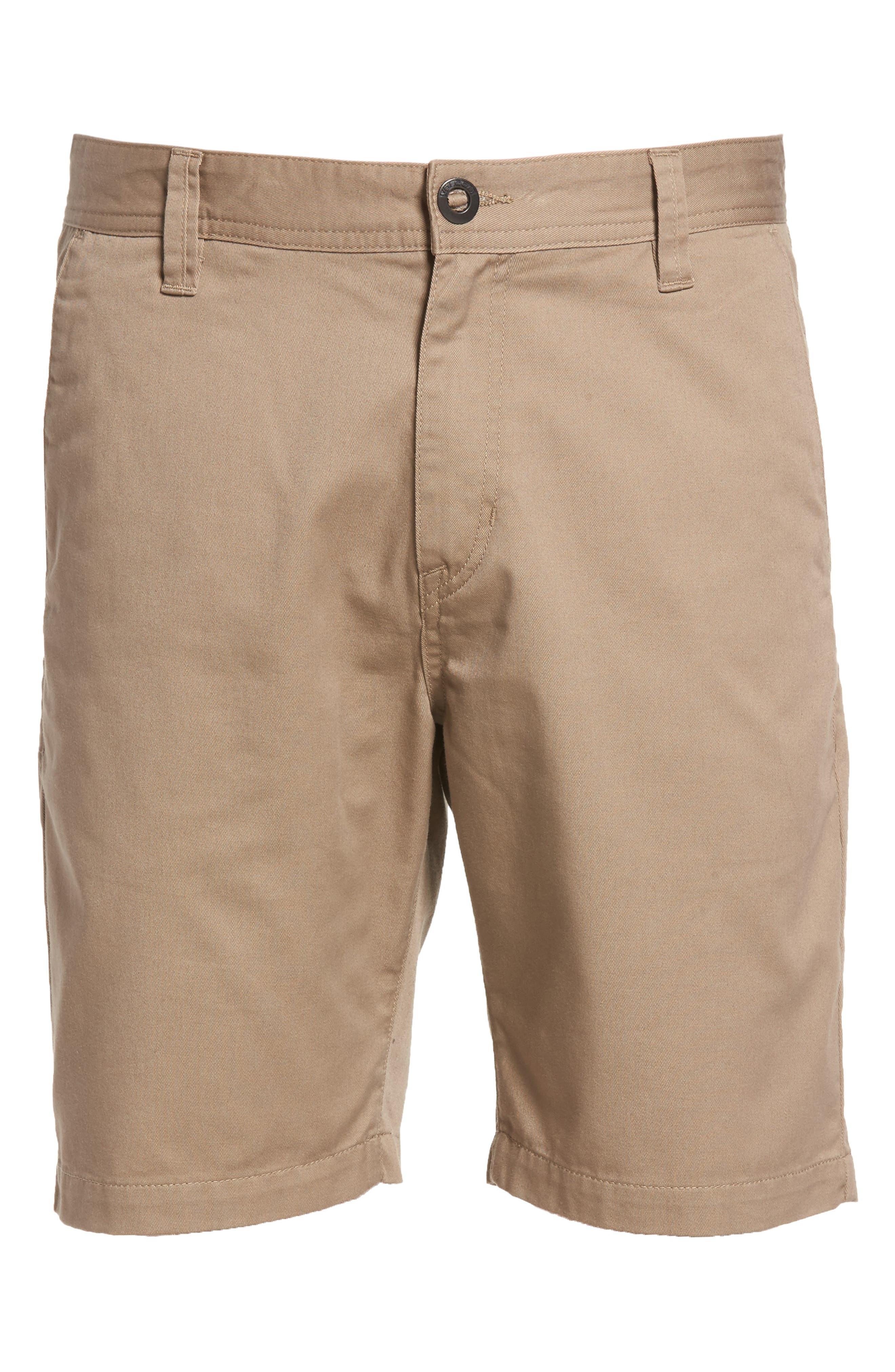 Alternate Image 6  - Volcom Drifter Modern Chino Shorts
