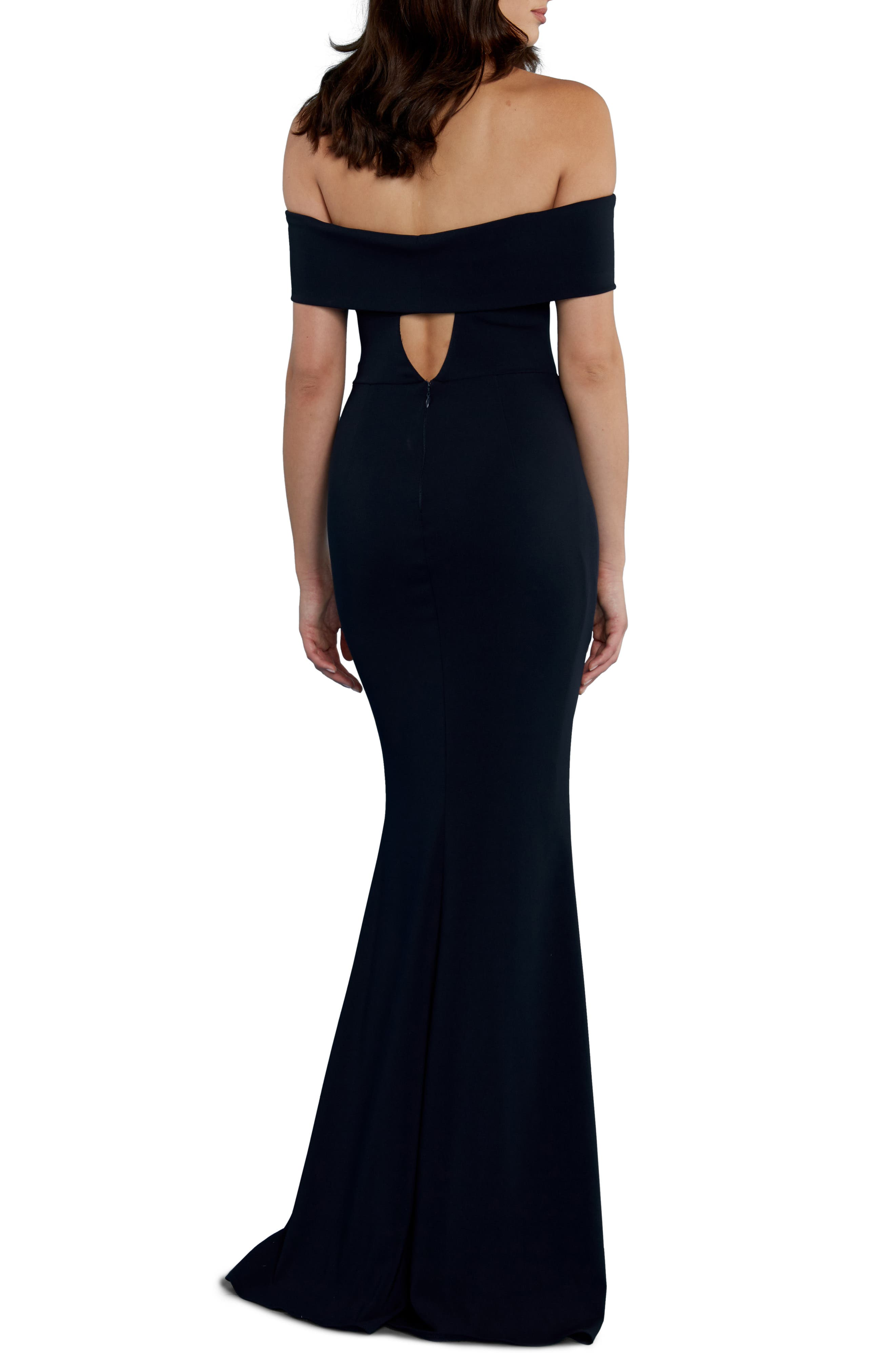 Alternate Image 5  - Katie May Legacy Crepe Body-Con Gown
