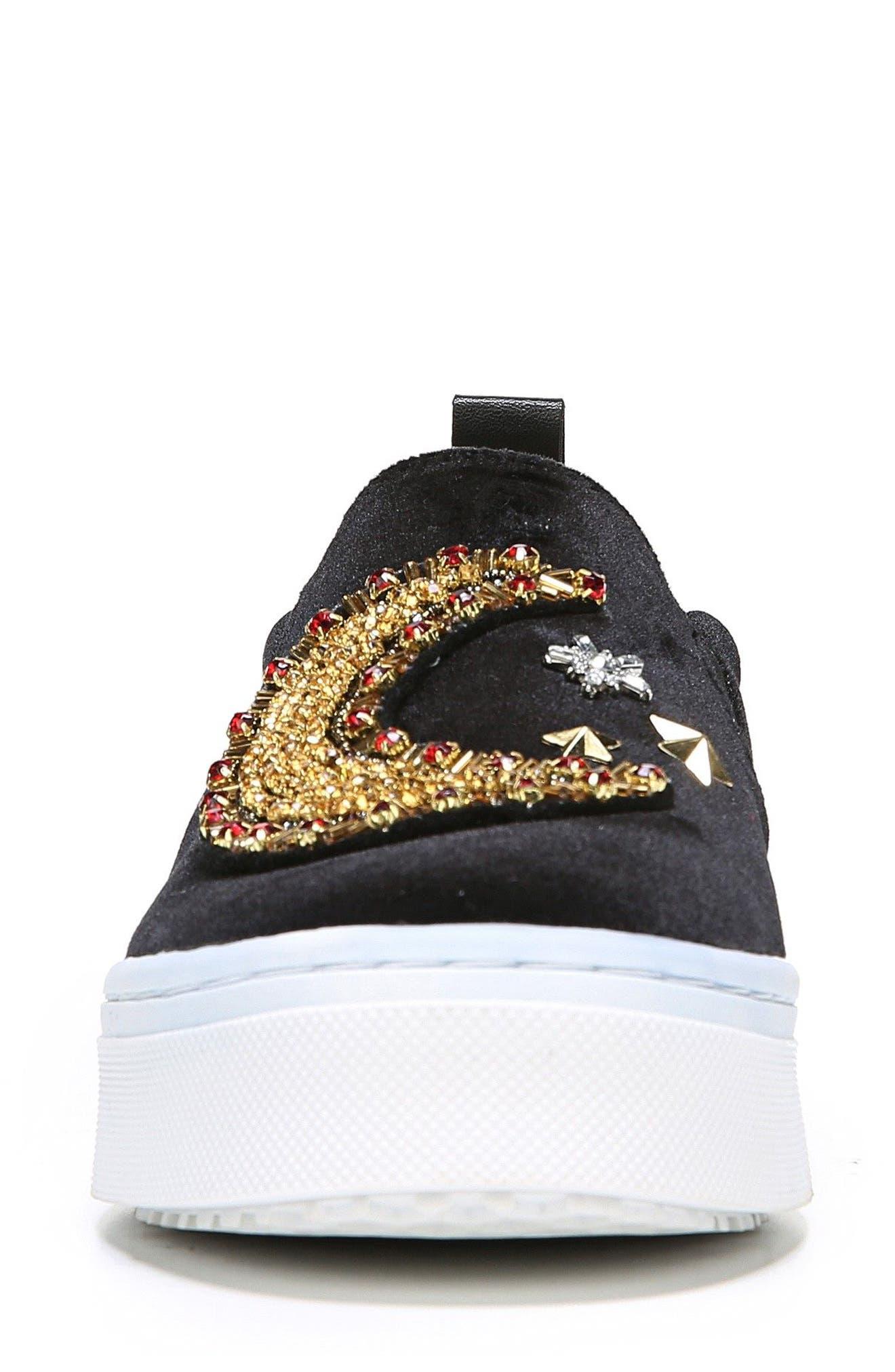 Alternate Image 4  - Sam Edelman Leila Embellished Platform Sneaker (Women)