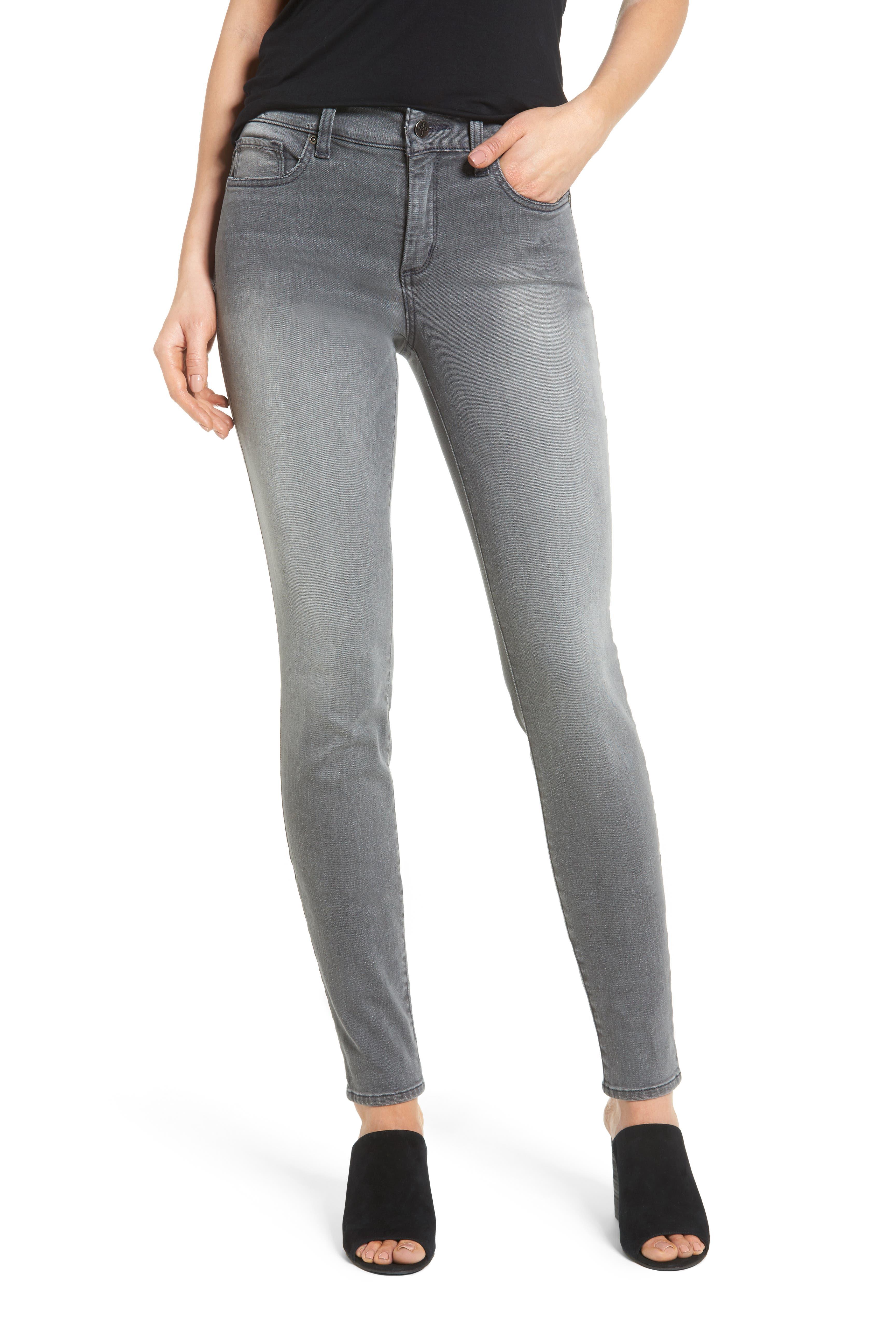 Ami Stretch Skinny Jeans,                         Main,                         color, Alchemy