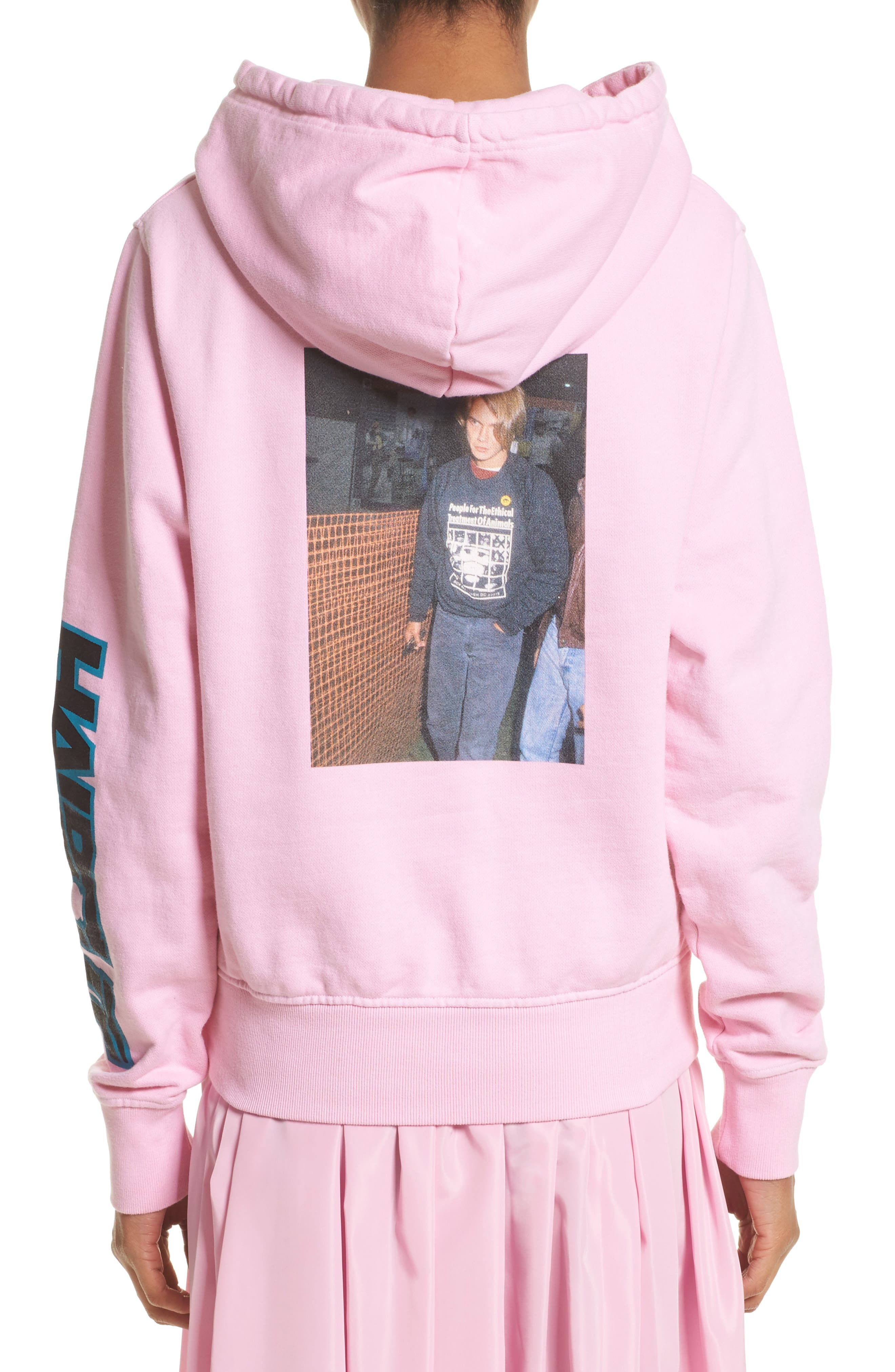 Alternate Image 2  - Ashley Williams River Phoenix Haircut Hoodie