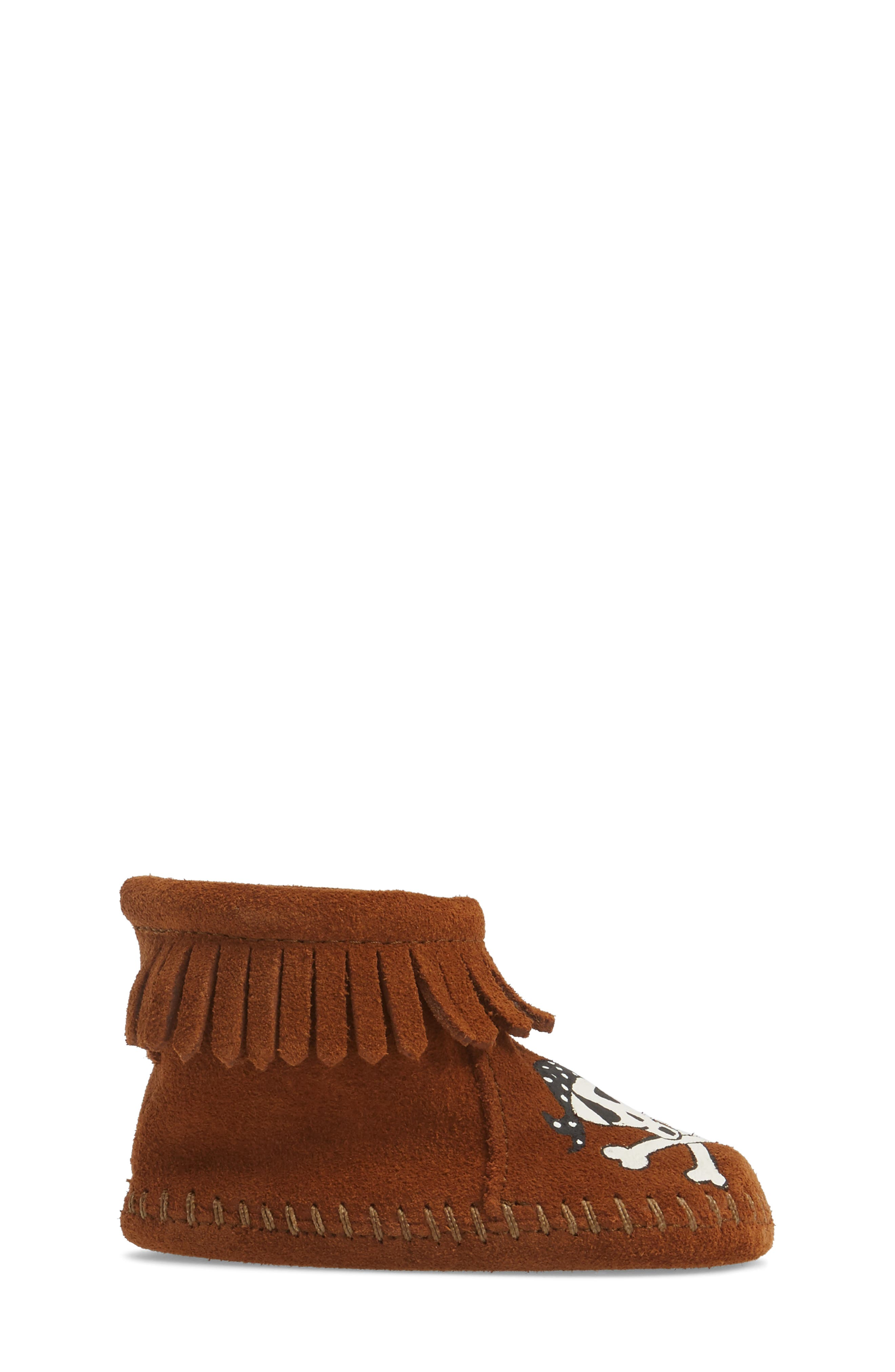 x Free Range Mama Sail into the Mystic Bootie,                             Alternate thumbnail 3, color,                             Brown Suede
