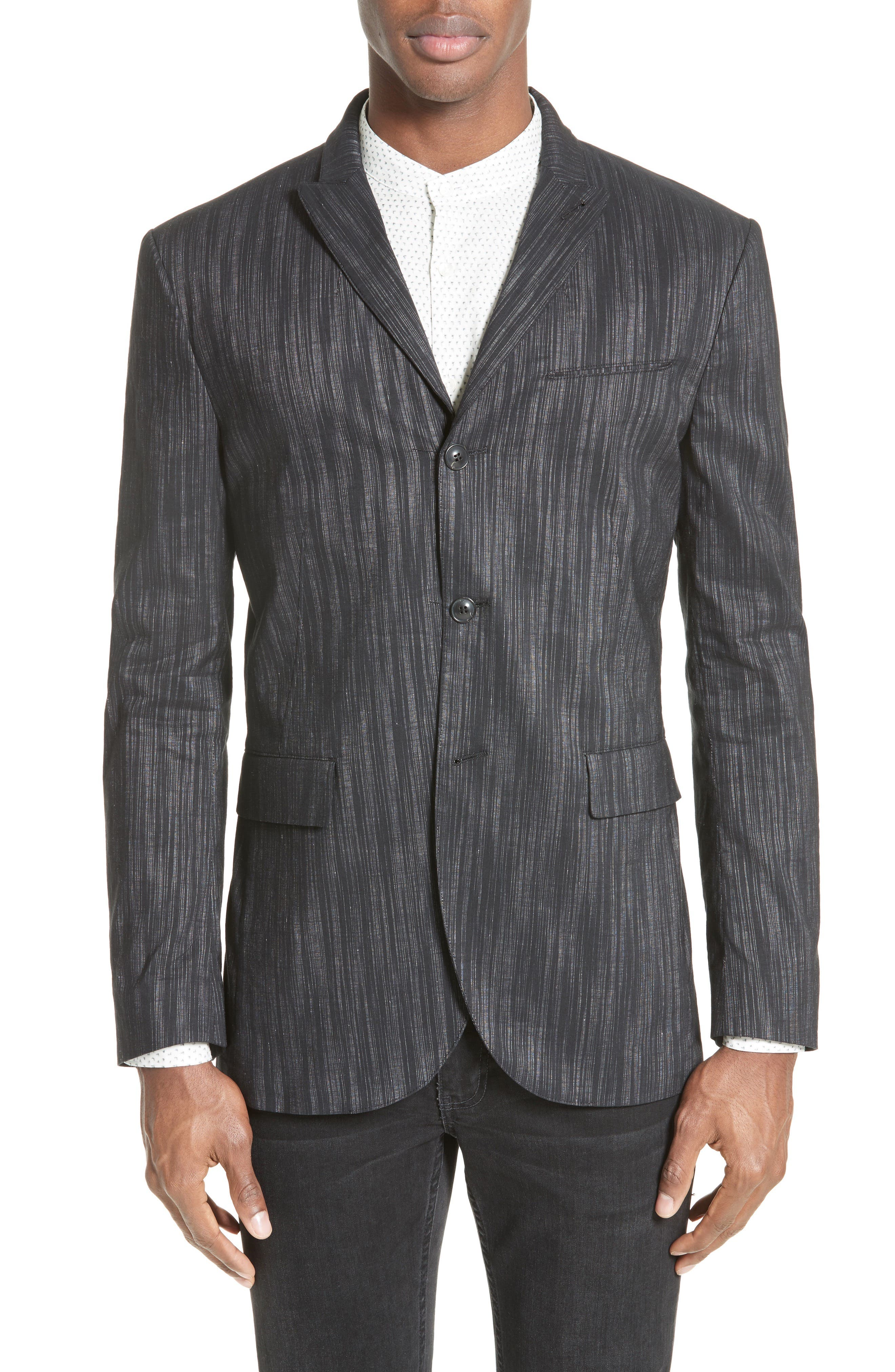 John Varvatos Collection Slim Fit Sport Coat