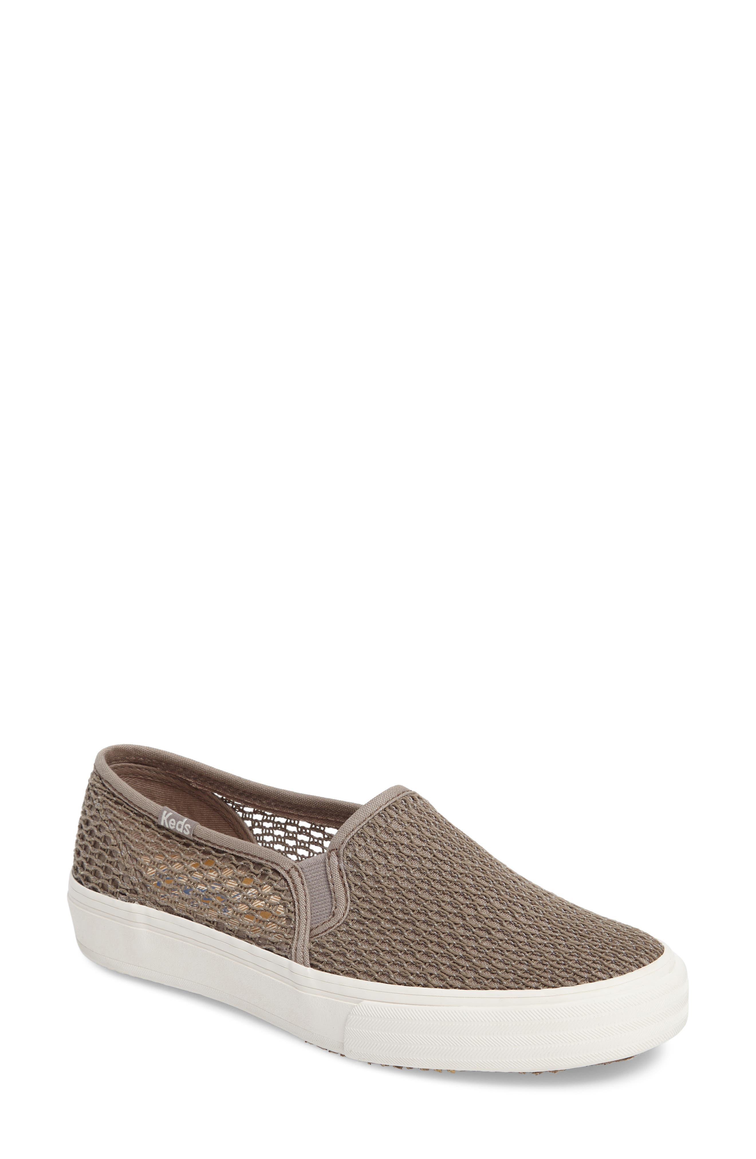 Keds® Double Decker Crochet Slip-On Sneaker (Women)
