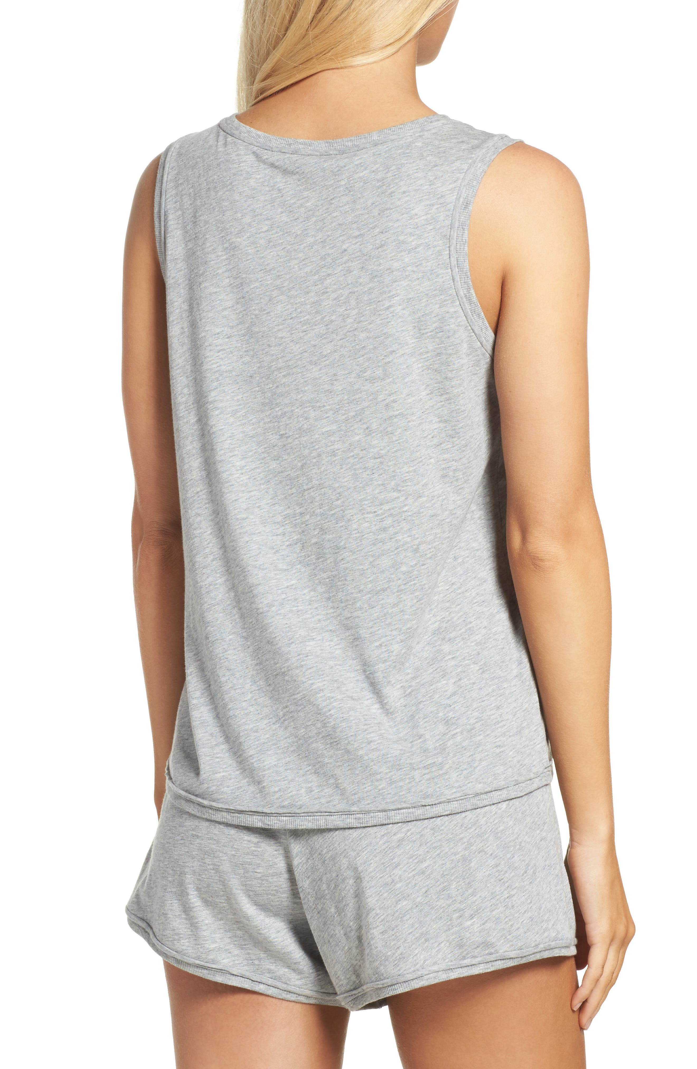 Lounge Tank,                             Alternate thumbnail 2, color,                             Heather Grey