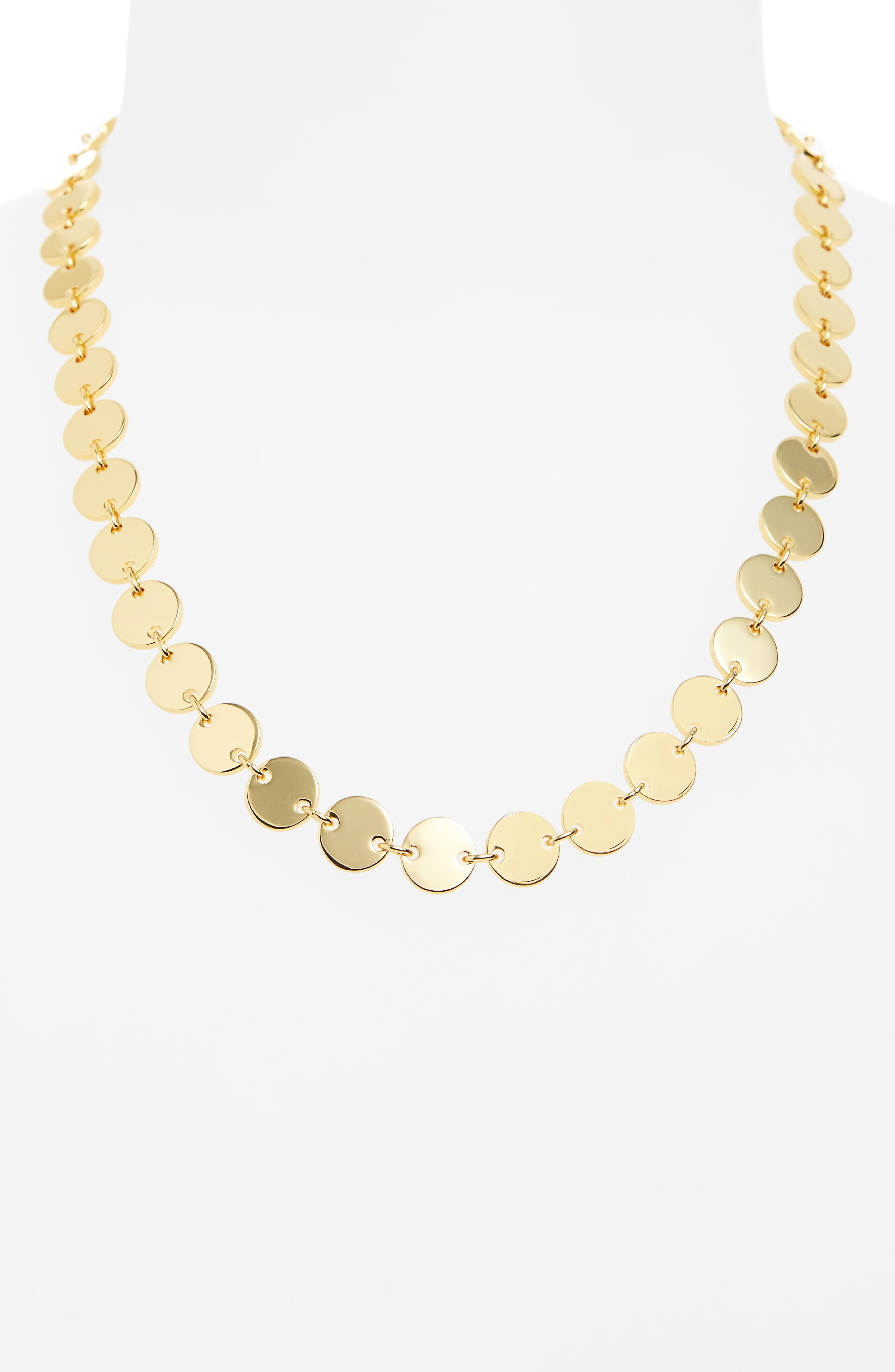 Elizabeth and James Goldie Collar Necklace