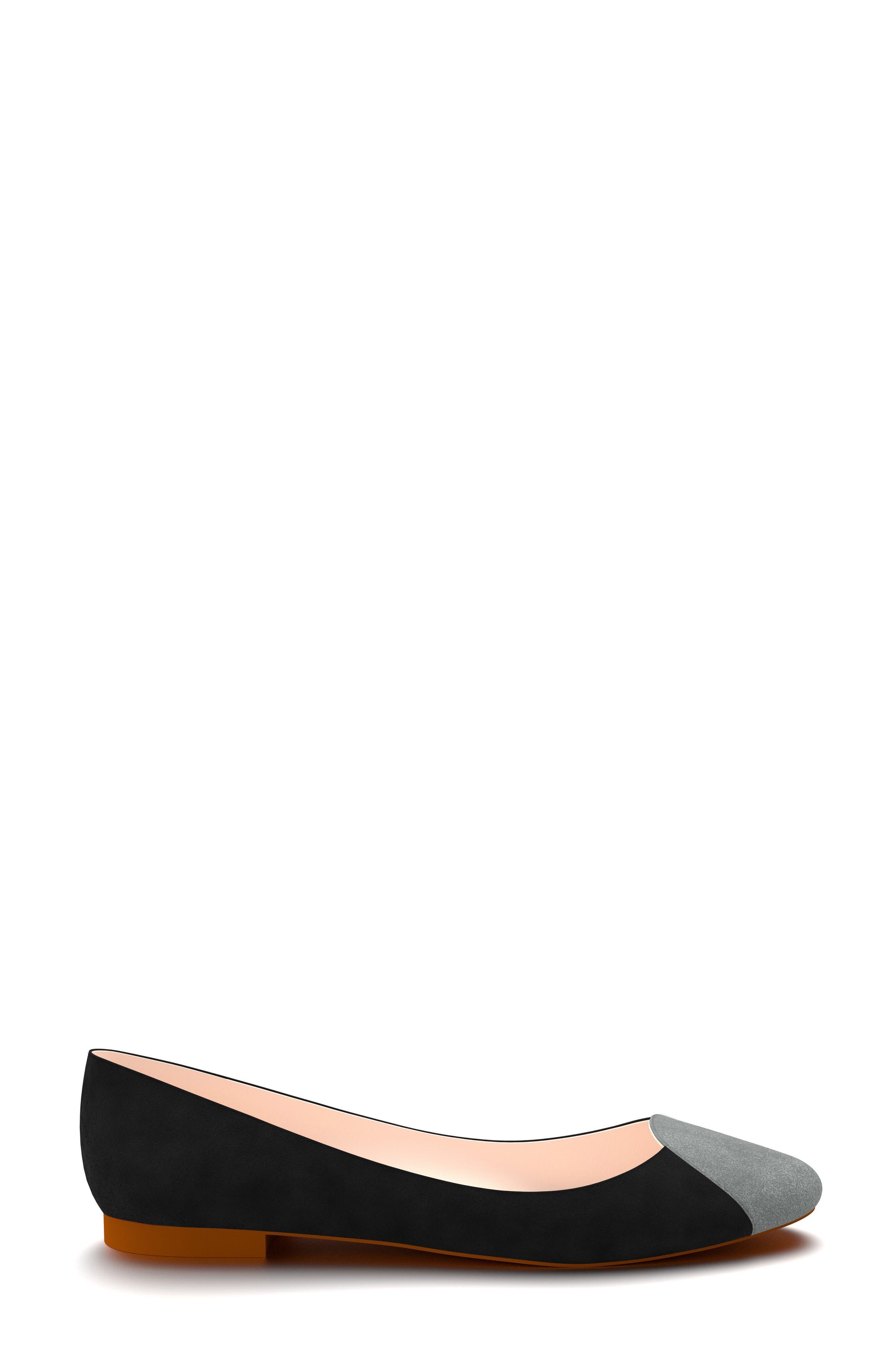 Alternate Image 2  - Shoes of Prey Cap Toe Ballet Flat (Women)