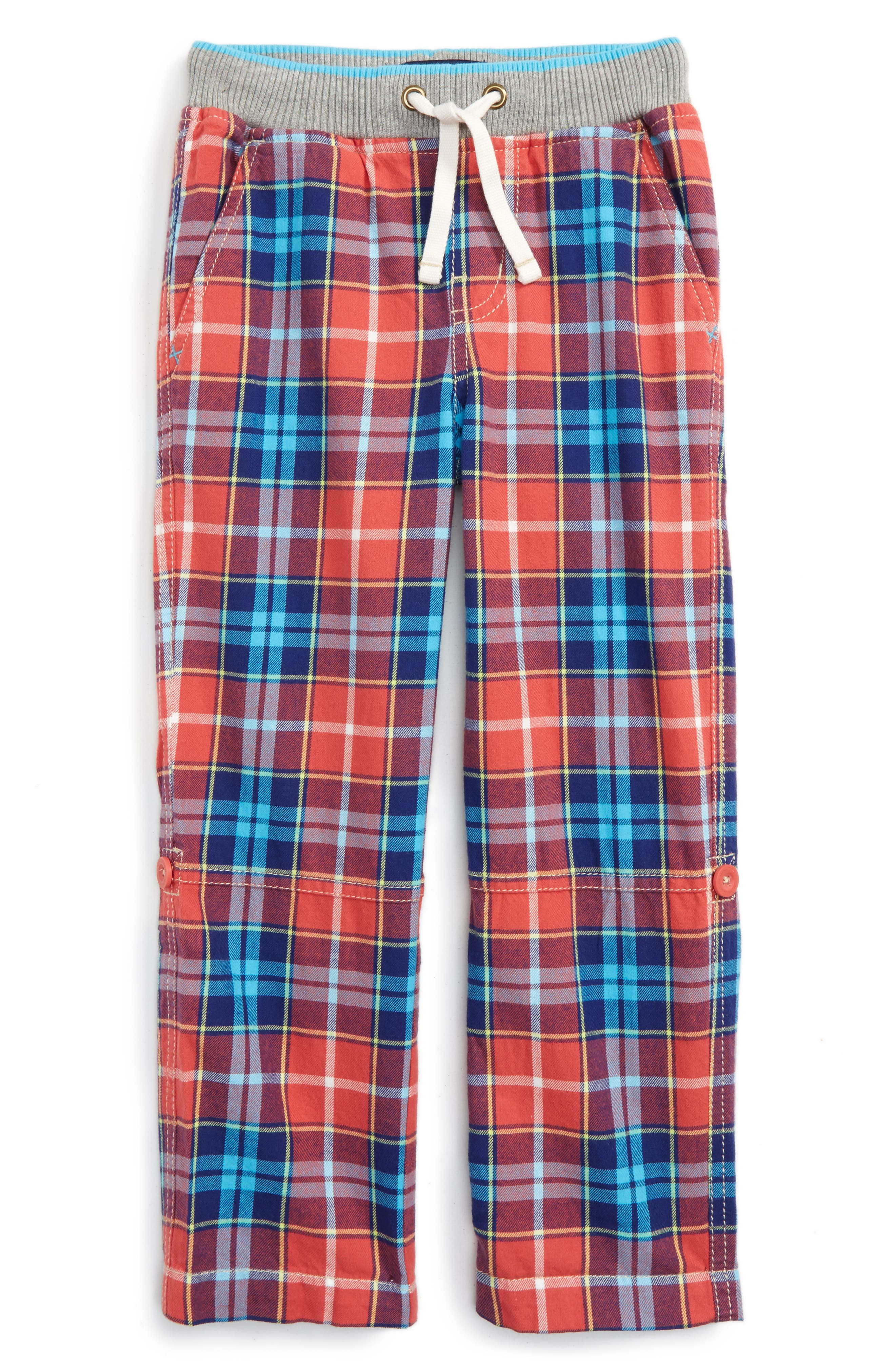 Main Image - Mini Boden Surf Roll-Up Pants (Toddler Boys, Little Boys & Big Boys)