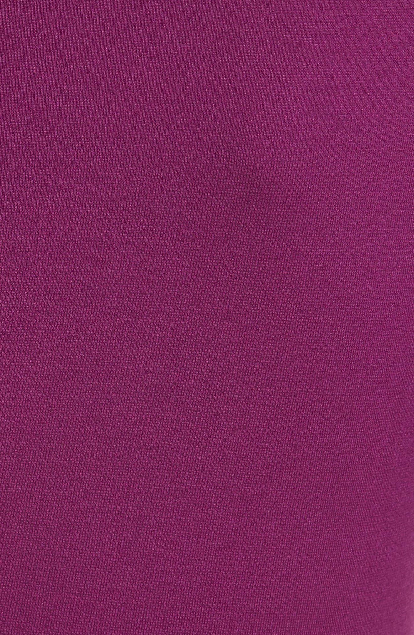 Alternate Image 3  - Armani Collezioni Milano Jersey Petal Hem Dress (Nordstrom Exclusive)