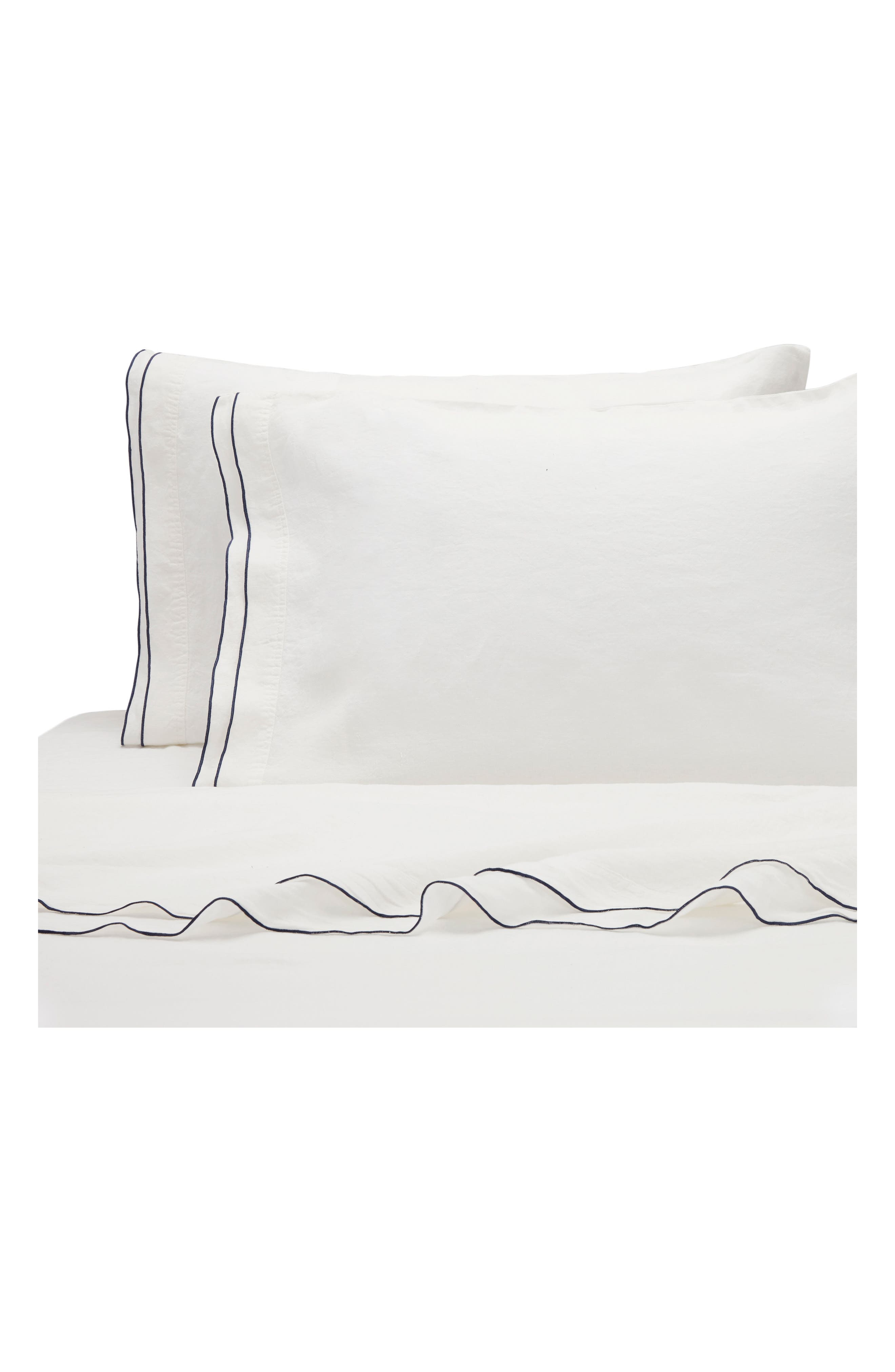 KASSATEX Biarritz Linen 300 Thread Count Pillowcase