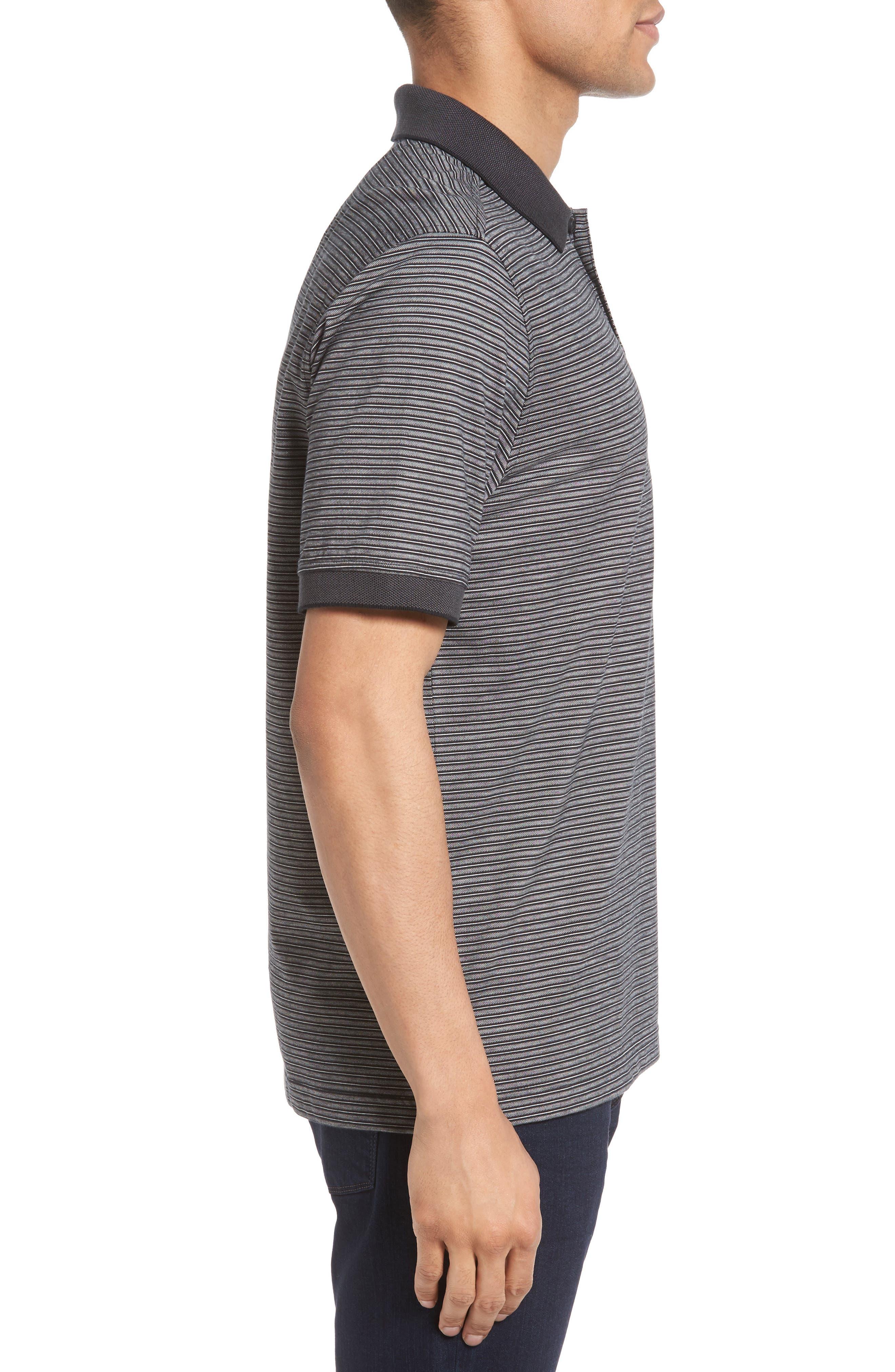 Alternate Image 3  - Nordstrom Men's Shop Regular Fit Performance Stripe Polo