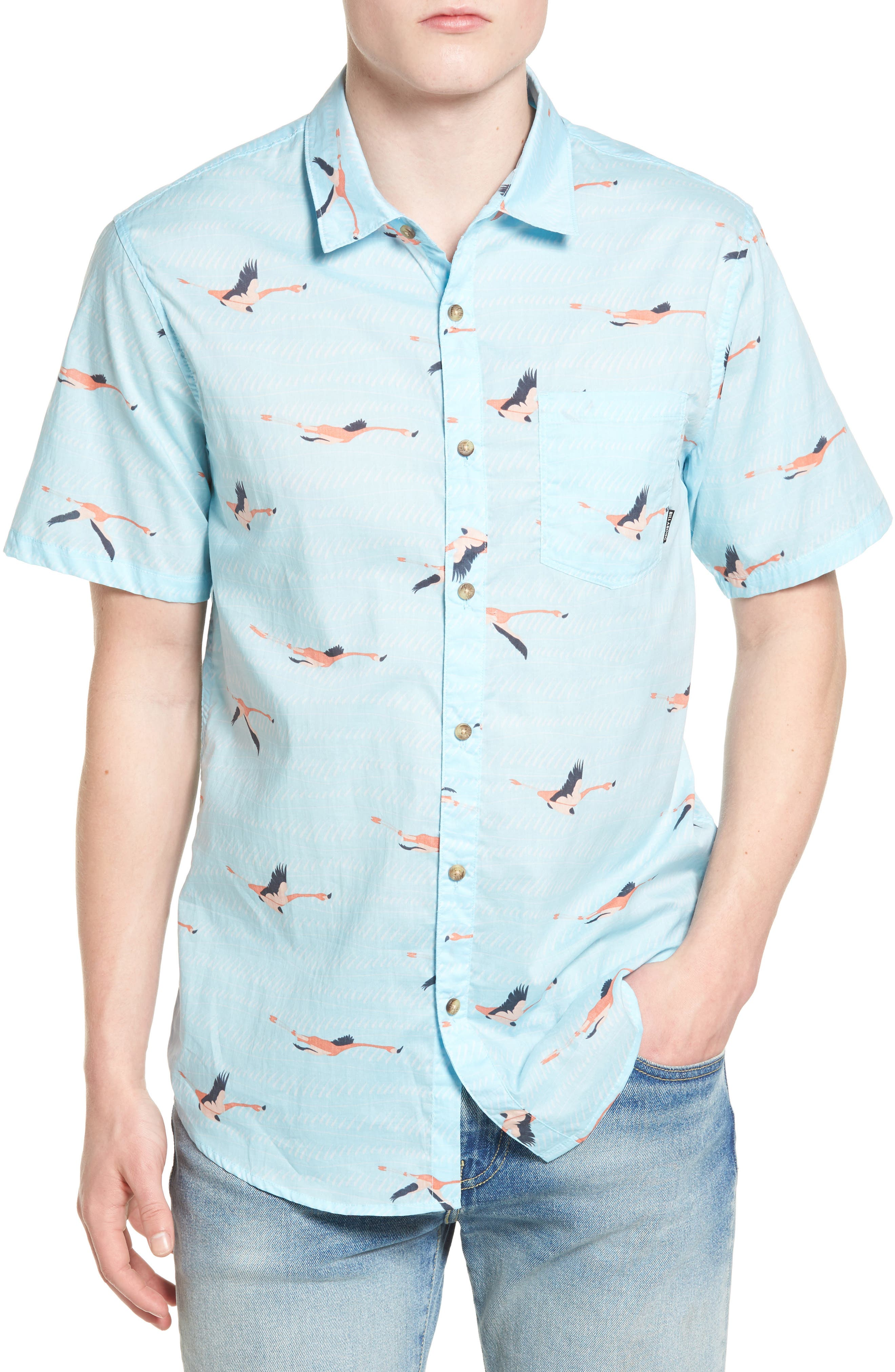 Billabong Vacay Print Woven Shirt