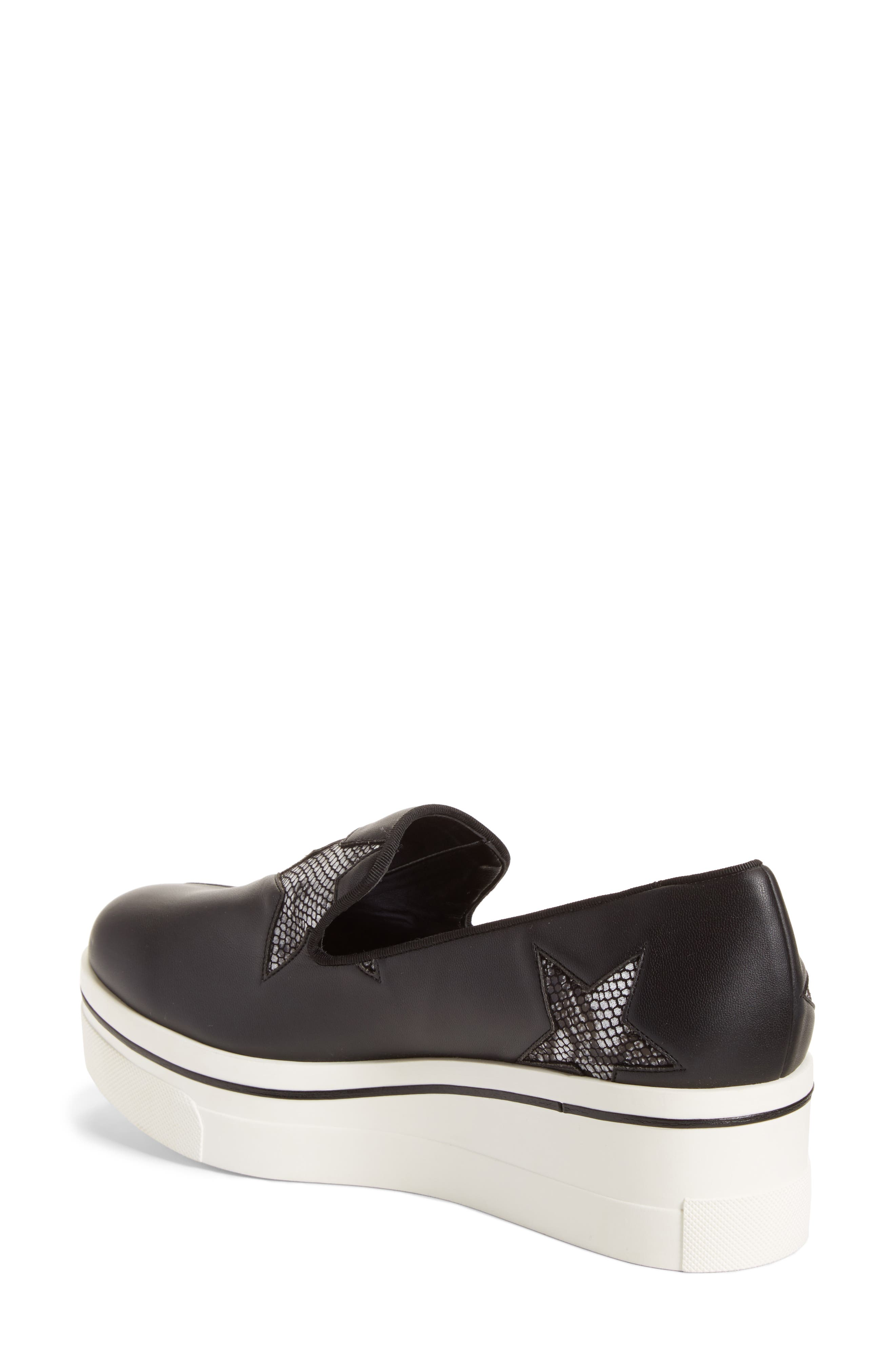 Alternate Image 2  - Stella McCartney Binx Stars Platform Sneaker (Women)