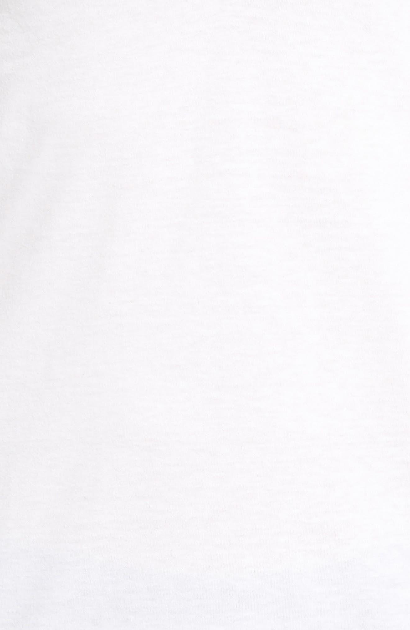 2-Pack V-Neck T-Shirt,                             Alternate thumbnail 5, color,                             White