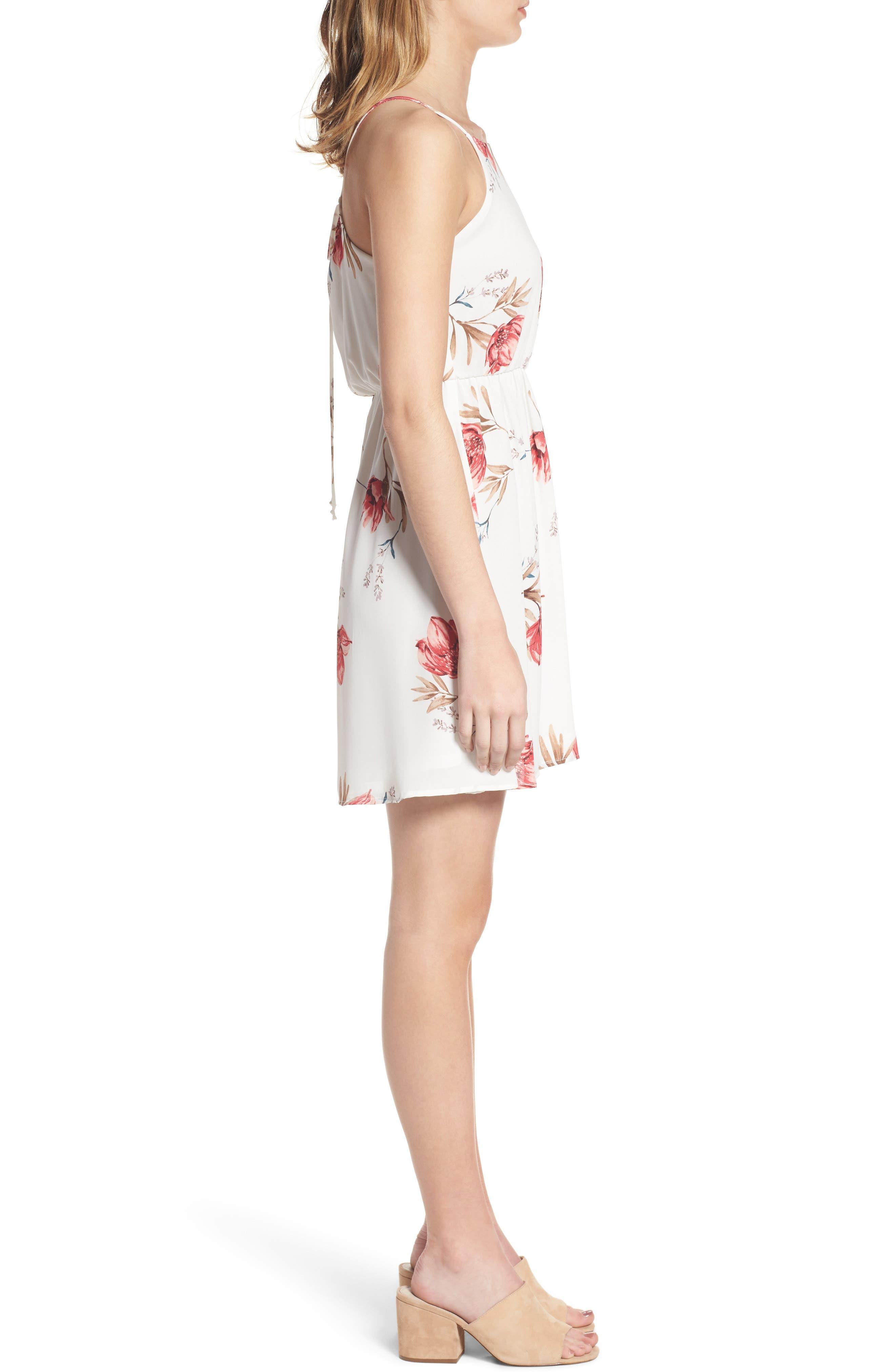 Alternate Image 3  - Back Tie Blouson Dress
