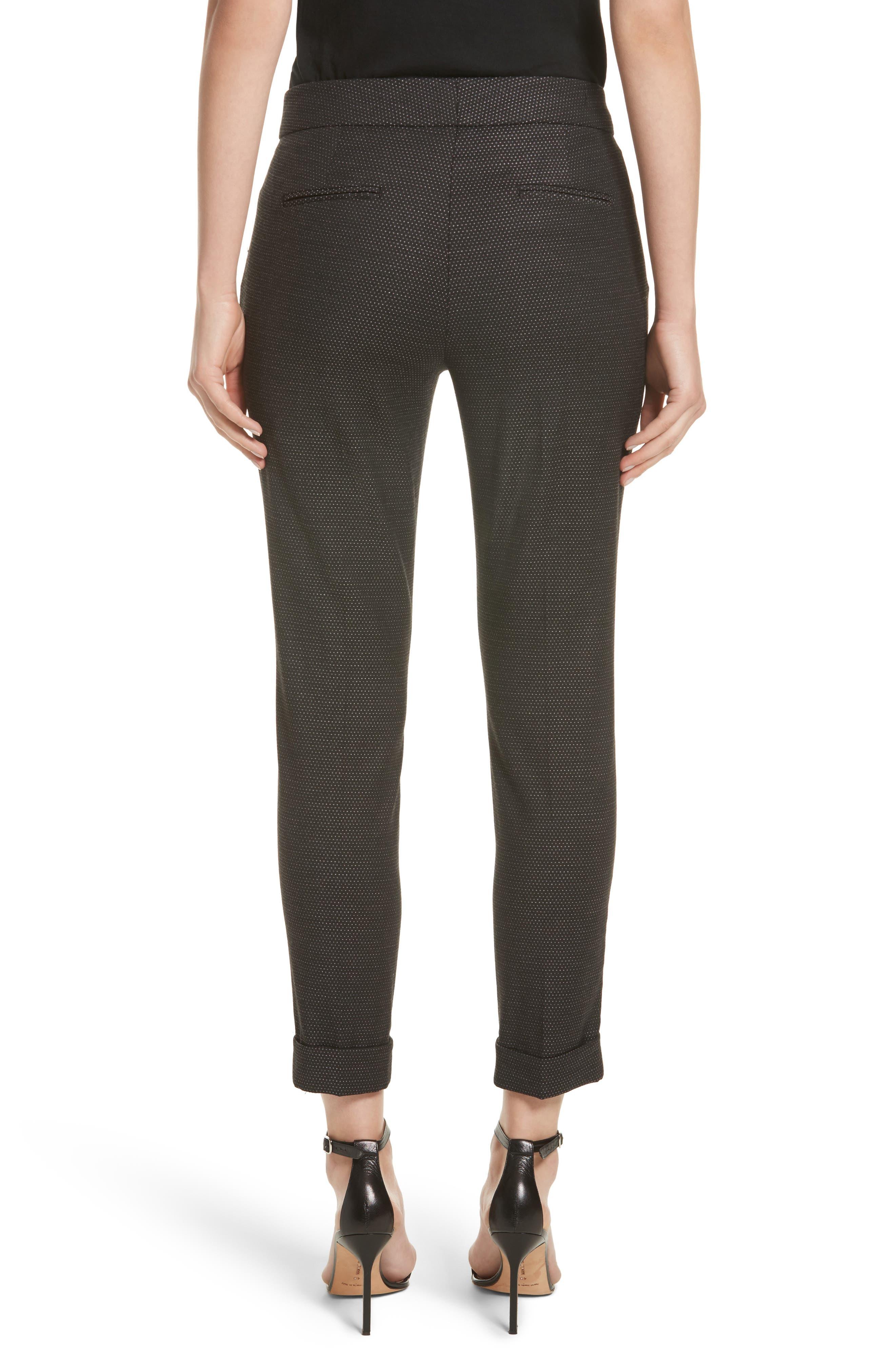 Alternate Image 2  - Etro Dot Wool Blend Crop Pants