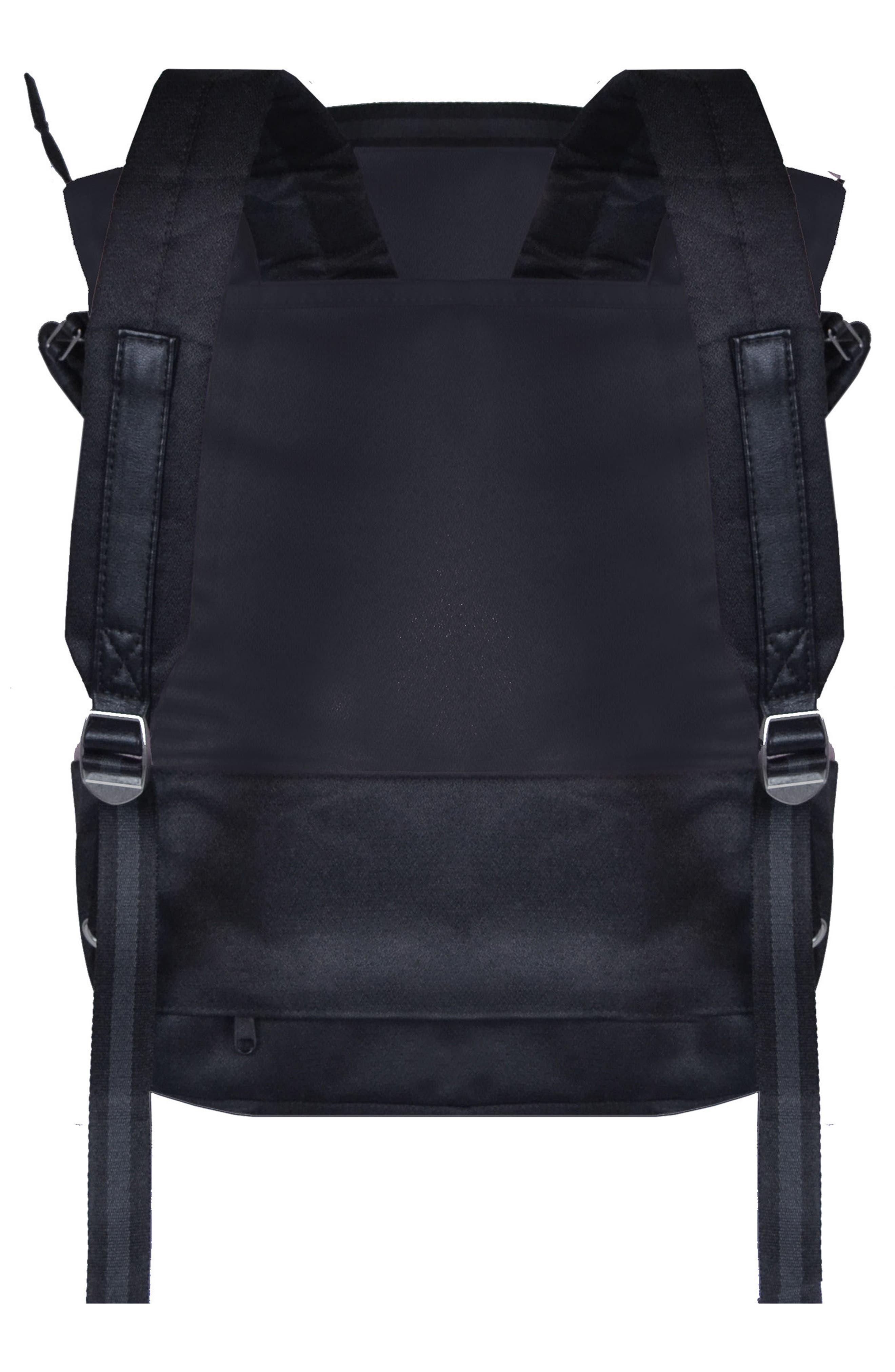 Black Convertible Backpack Purse- Fenix Toulouse Handball 882f974546e06