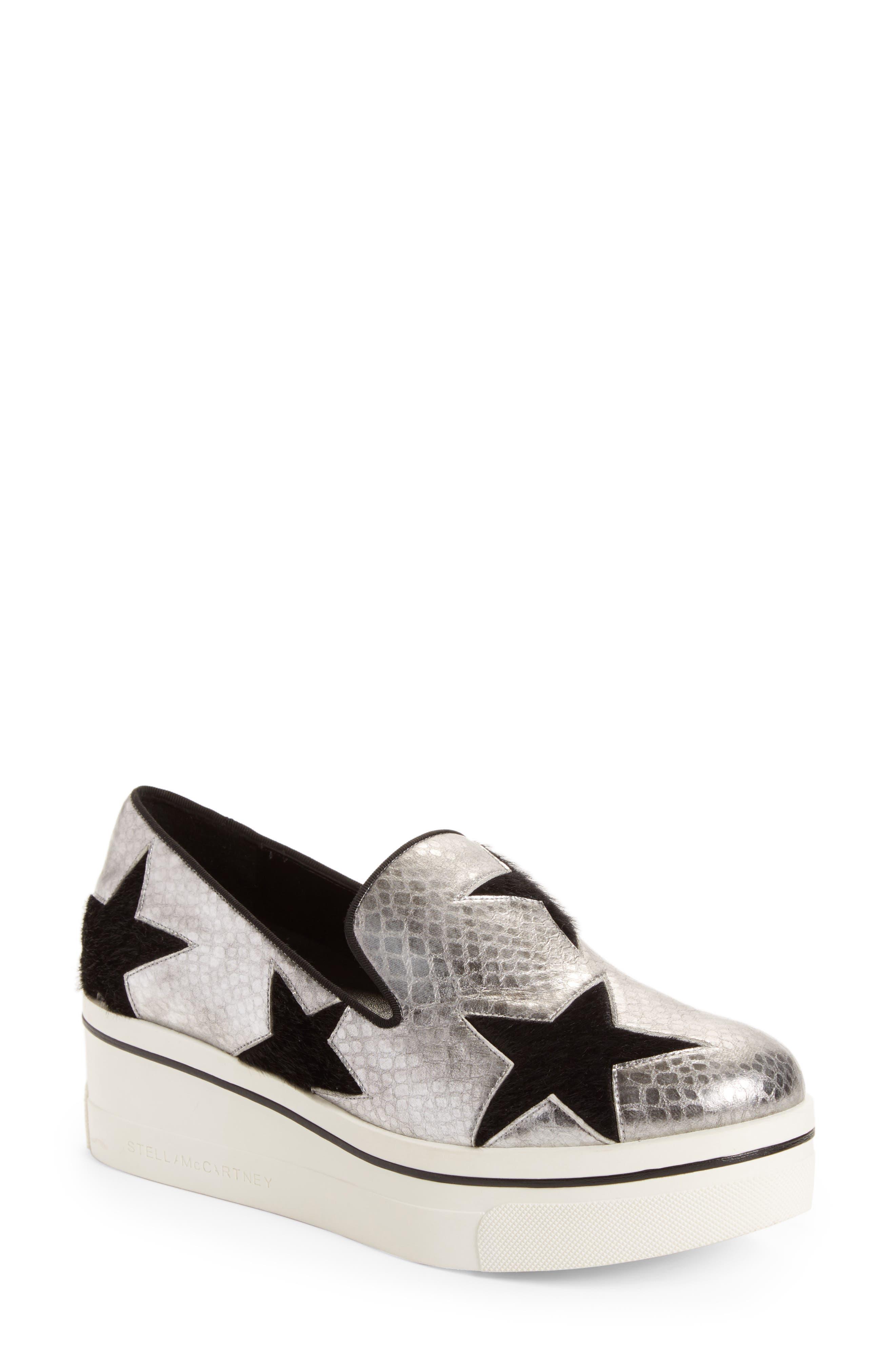 Stella McCartney Binx Stars Platform Slip-On Sneaker (Women)